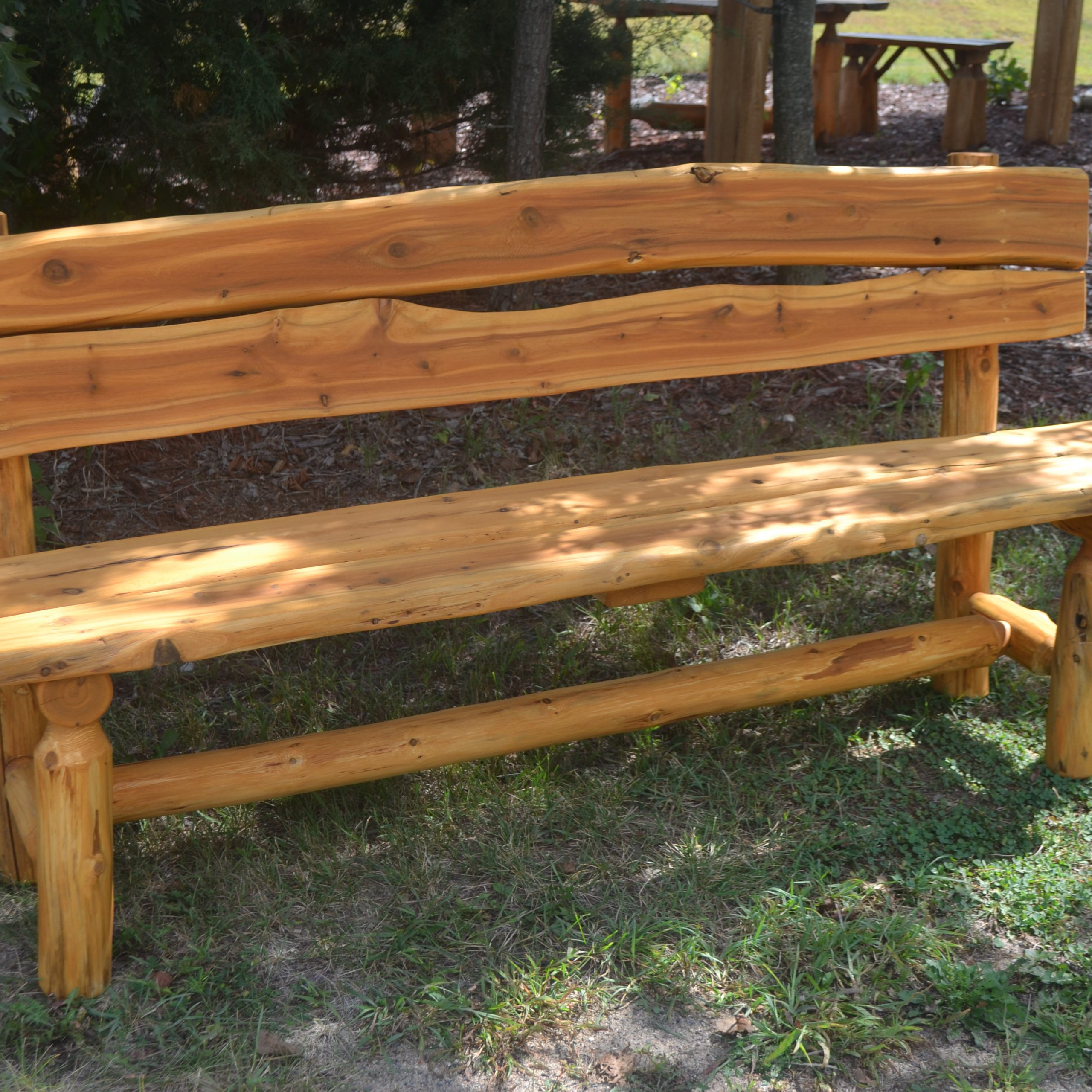 Wood Garden Benches Inside Well Known Design: Relax In Your Garden With Outdoor Wooden Benches (Gallery 28 of 30)