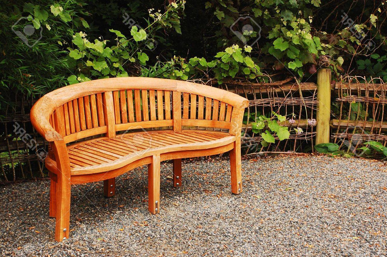 Wood Garden Benches Regarding Best And Newest Wooden Garden Bench (View 26 of 30)