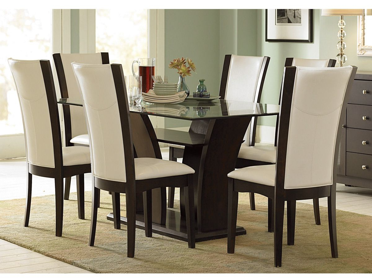 Featured Photo of Espresso Finish Wood Classic Design Dining Tables