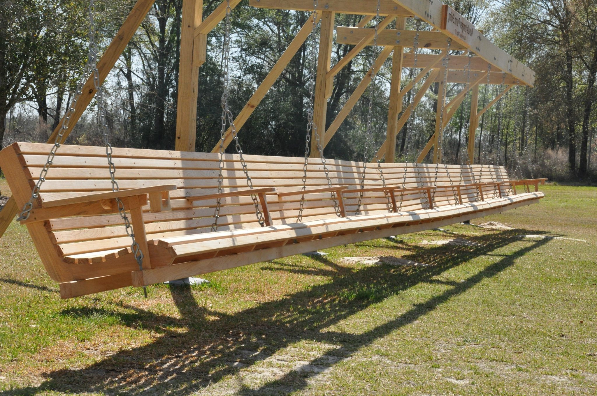 Wooden Porch Swing Stand Plans Regarding Famous Porch Swings With Stand (View 21 of 30)
