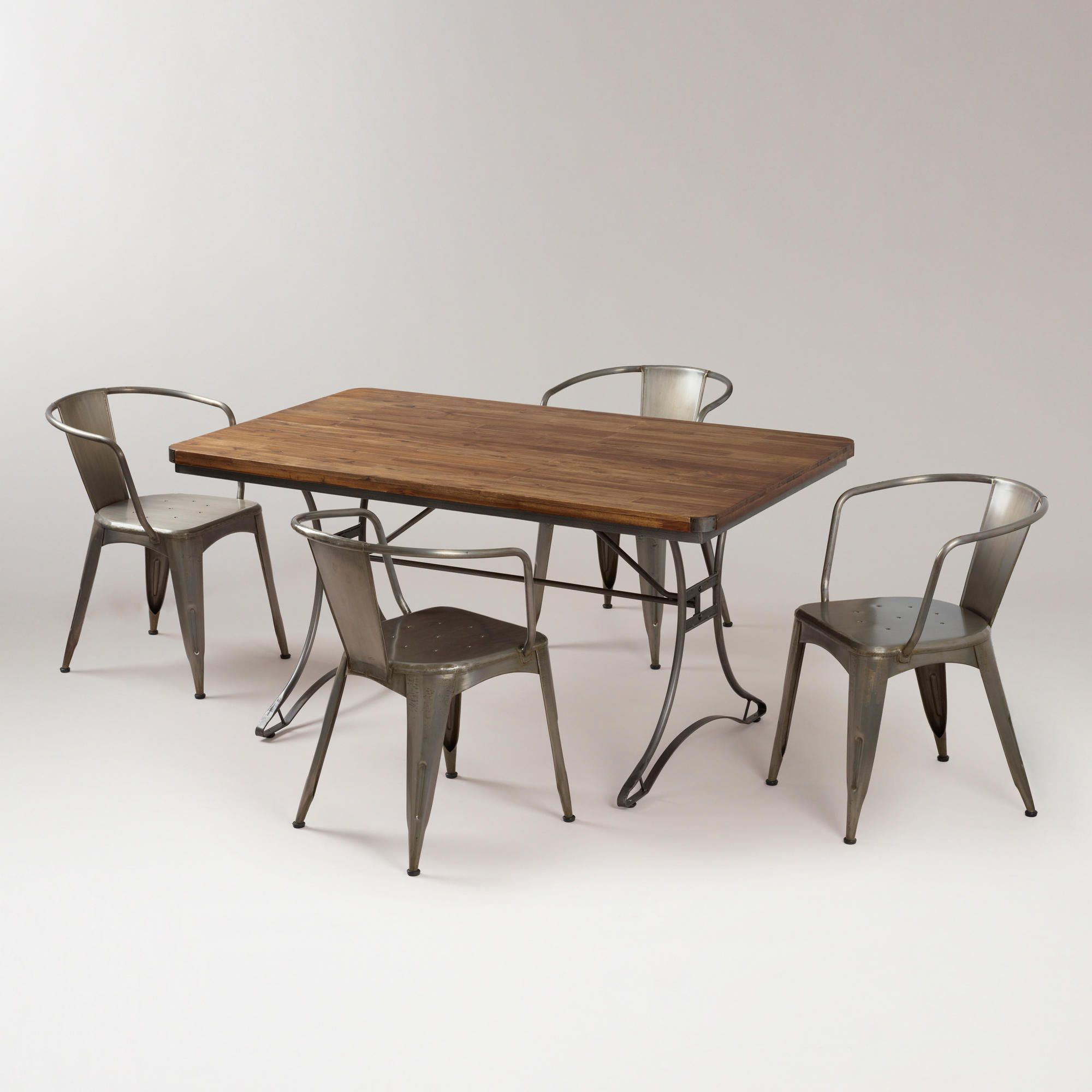 World Market Regarding 2018 Acacia Wood Dining Tables With Sheet Metal Base (View 10 of 30)