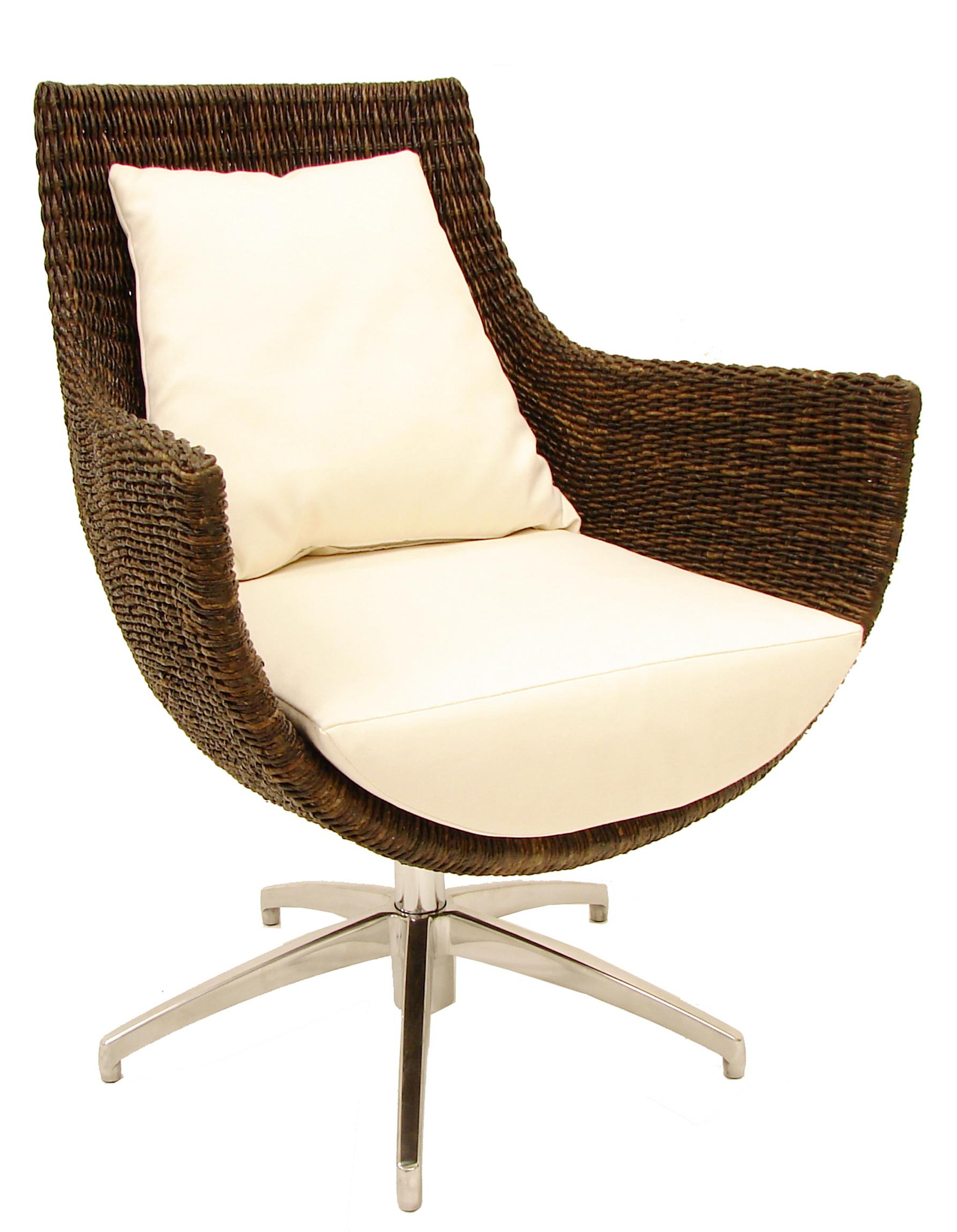 Woven High Back Swivel Chairs For Most Popular Palecek Accent Chairspalecek Modern High Back Rattan (View 20 of 30)