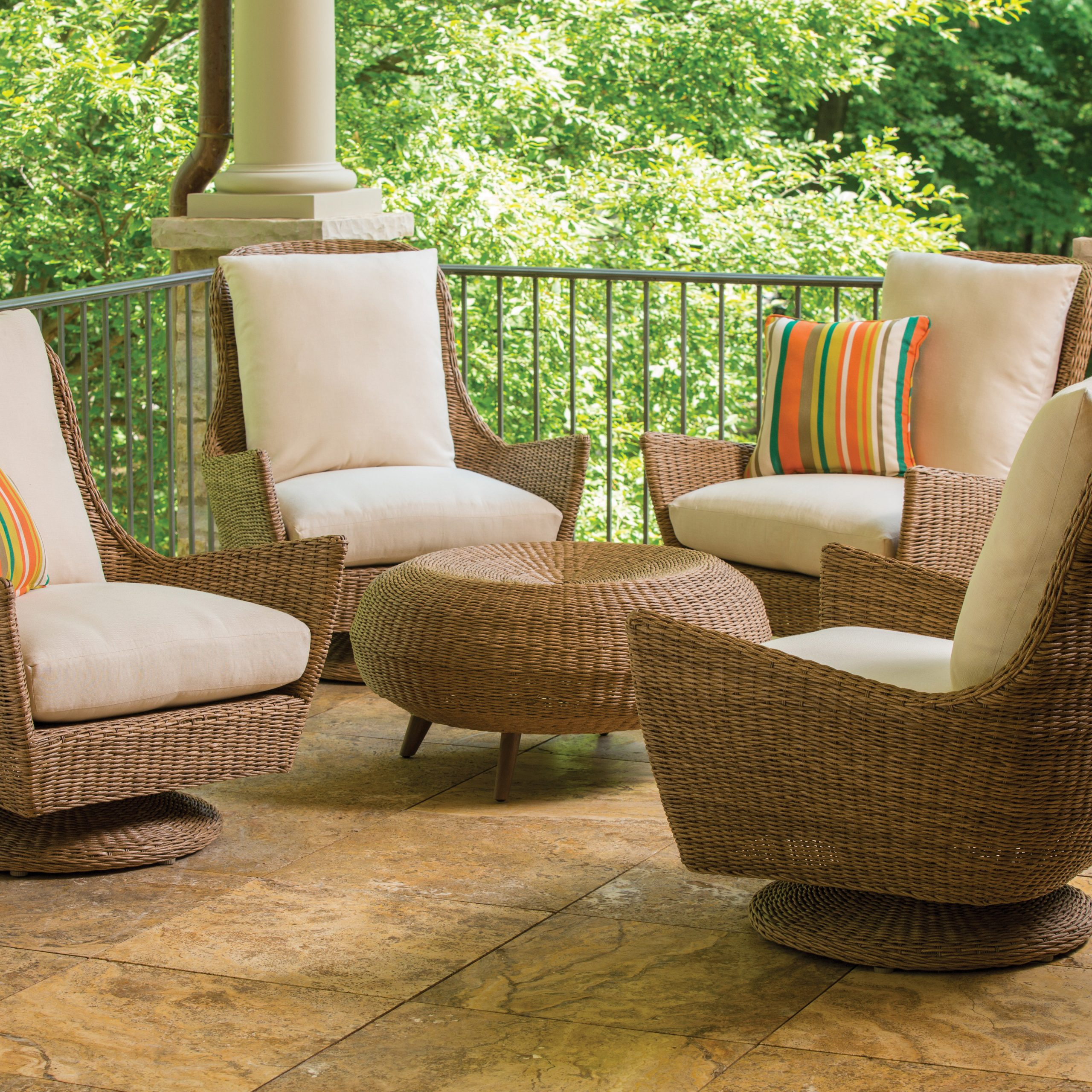 Woven High Back Swivel Chairs Throughout Best And Newest Item (View 13 of 30)