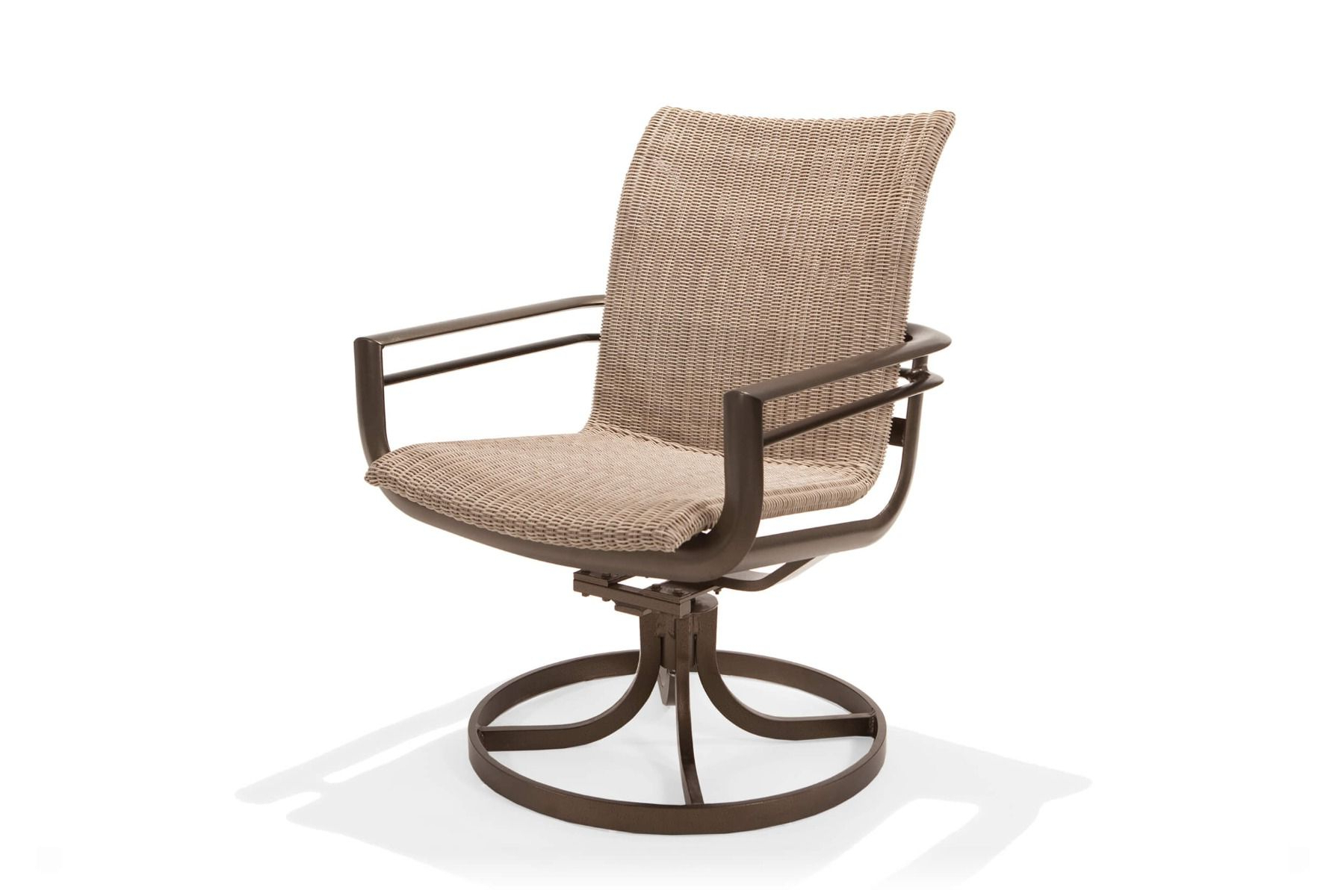 Woven High Back Swivel Chairs With Fashionable Southern Cay Woven High Back Swivel Tilt Chair (View 2 of 30)
