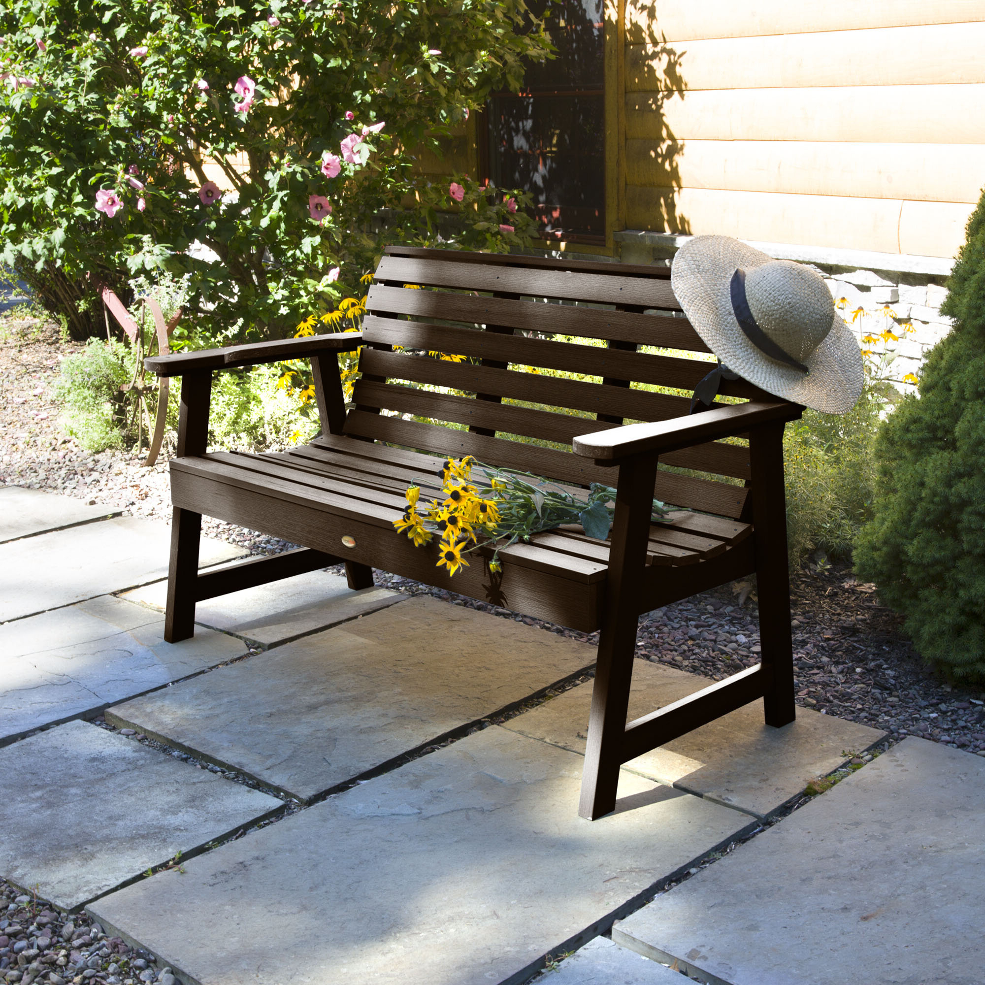 2019 Black Garden Outdoor Benches You'll Love In (View 26 of 30)