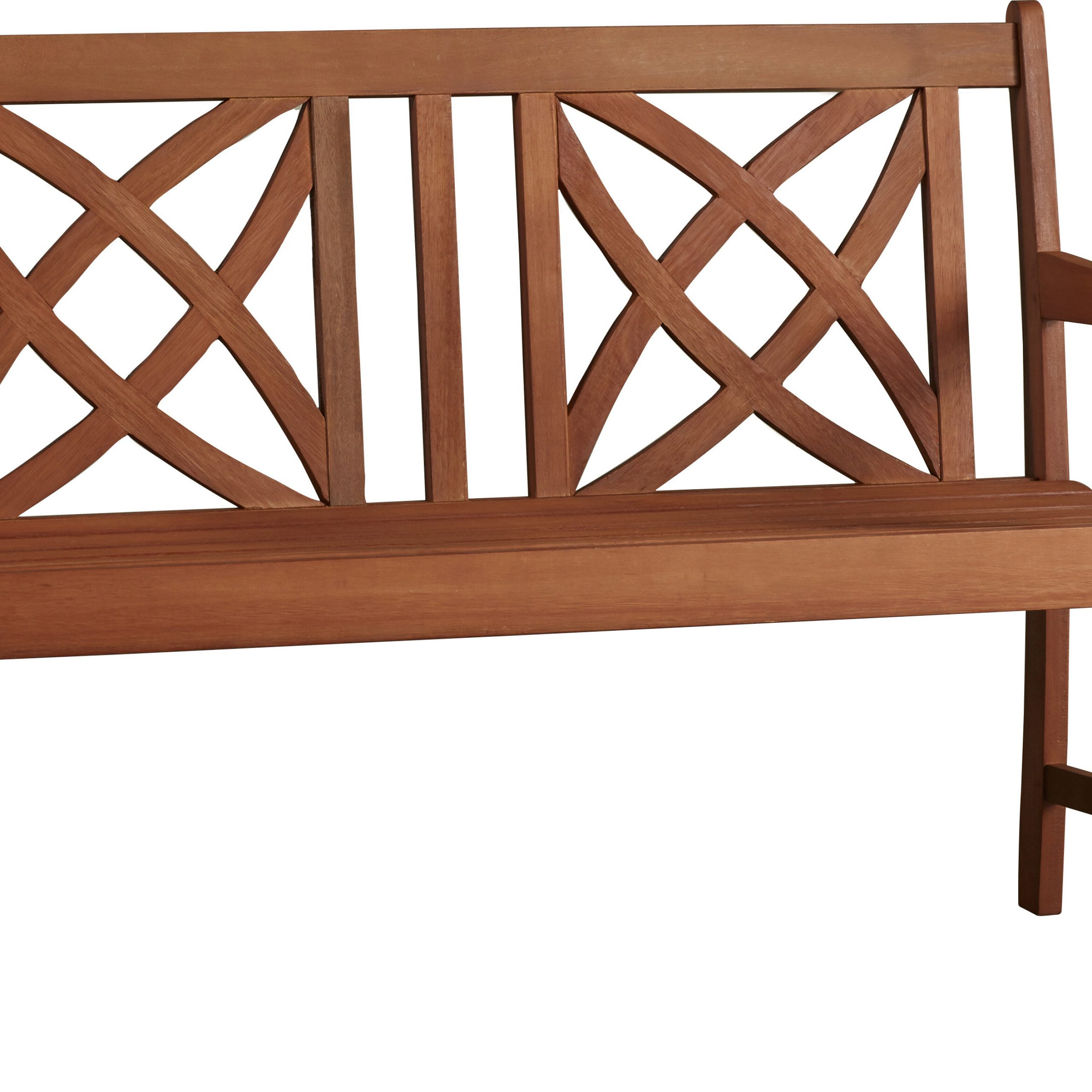 2019 Elsner Acacia Garden Benches Throughout Maliyah Solid Wood Garden Bench (View 6 of 30)