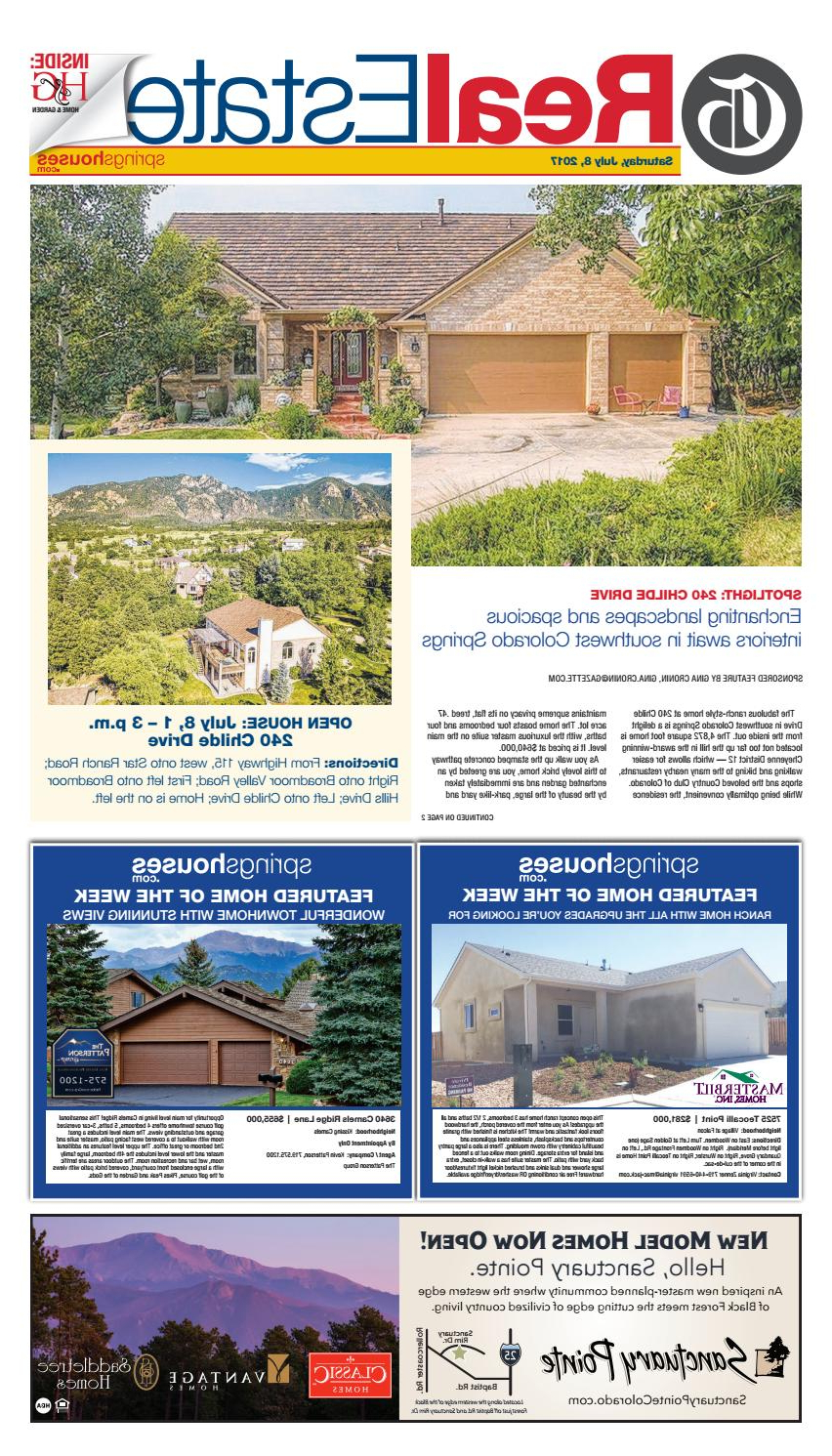 2019 Real Estate 07/08/17colorado Springs Gazette, Llc – Issuu Intended For Wurster Ceramic Drip Garden Stools (View 25 of 30)