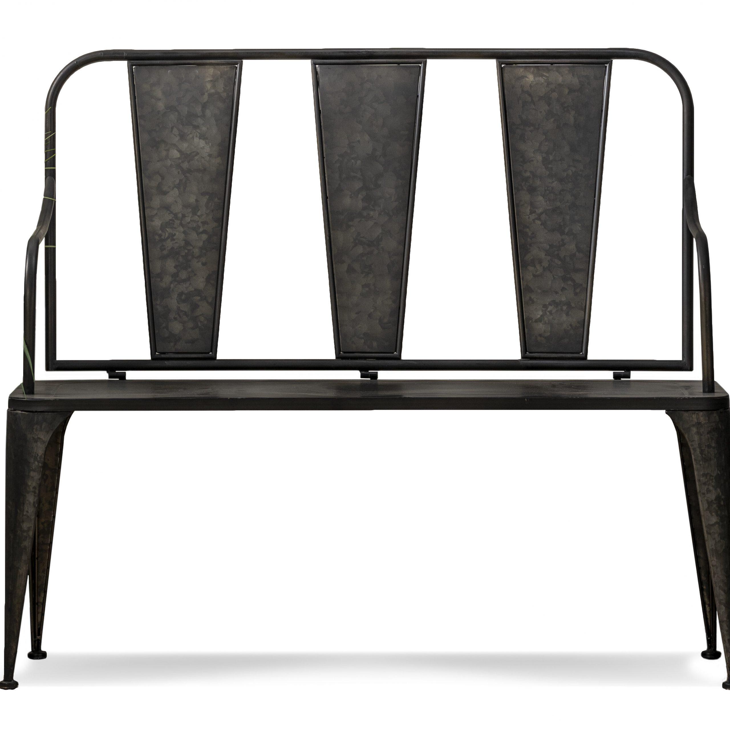 2020 Norrie Metal Garden Benches For Lorsworth Iron Garden Bench (View 2 of 30)