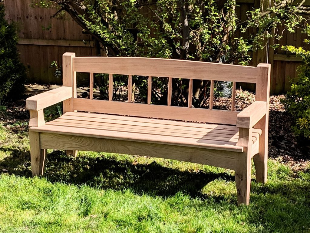 2020 Pauls Steel Garden Benches With Regard To Grass Needs Mowing – Paul Sellers' Blog (View 7 of 30)