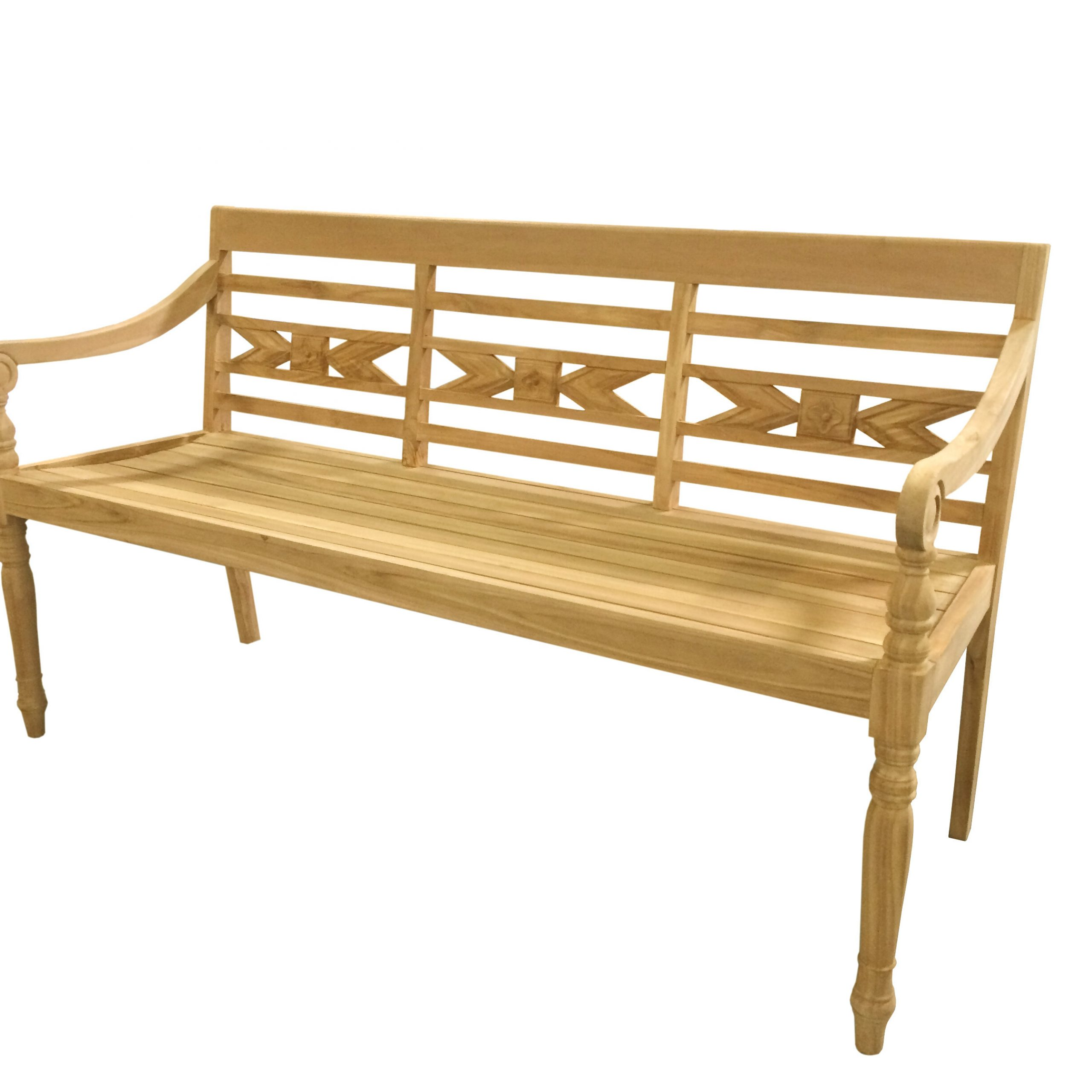 Abrielle Teak Garden Bench With Popular Wallie Teak Garden Benches (View 2 of 30)