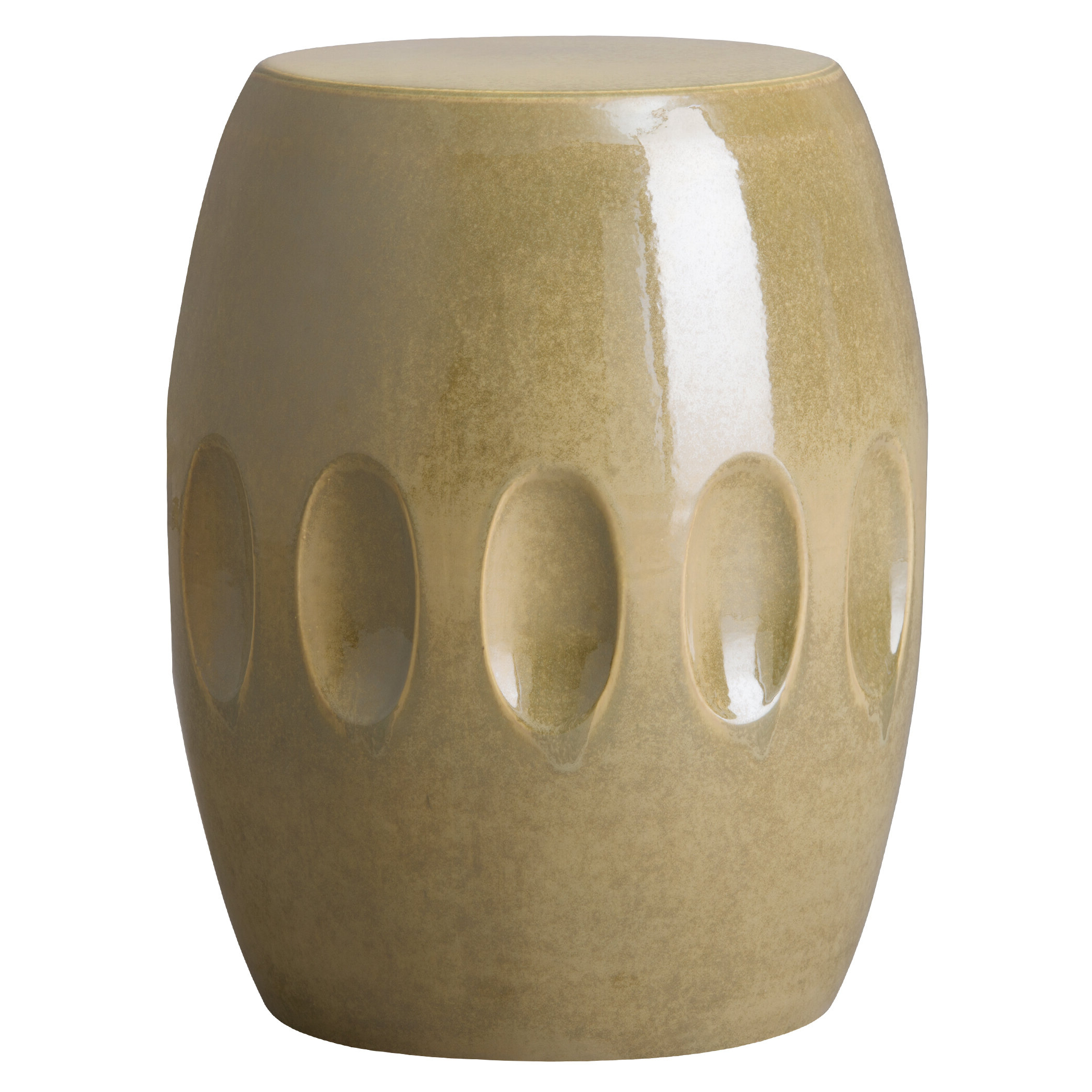 Aloysius Ceramic Garden Stools With Regard To Most Popular Pestre Garden Stool (View 13 of 30)