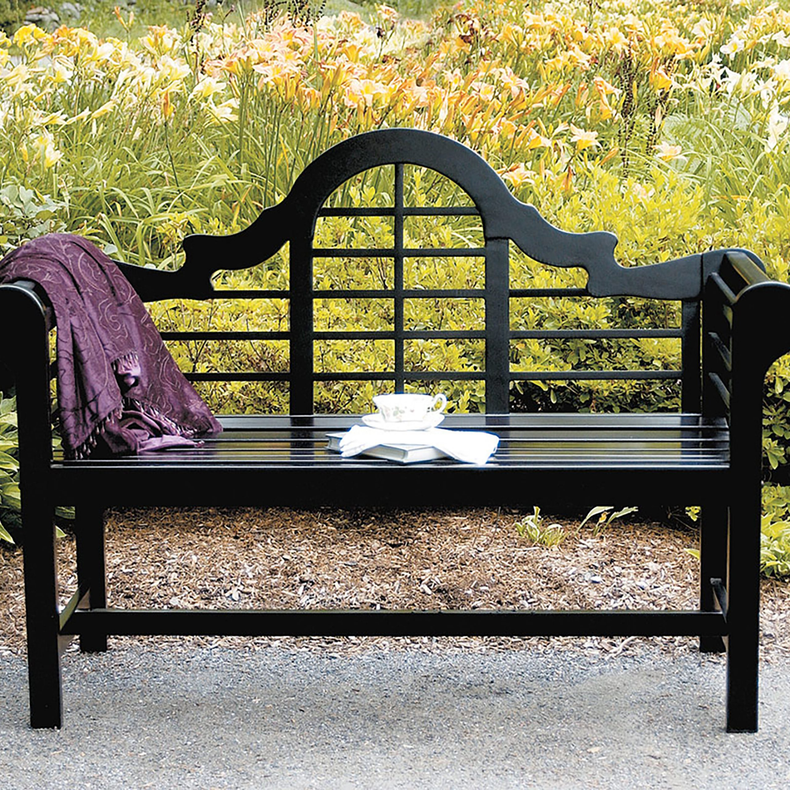 Aranita Tree Of Life Iron Garden Benches With Famous Garden Outdoor Benches You'll Love In (View 8 of 30)