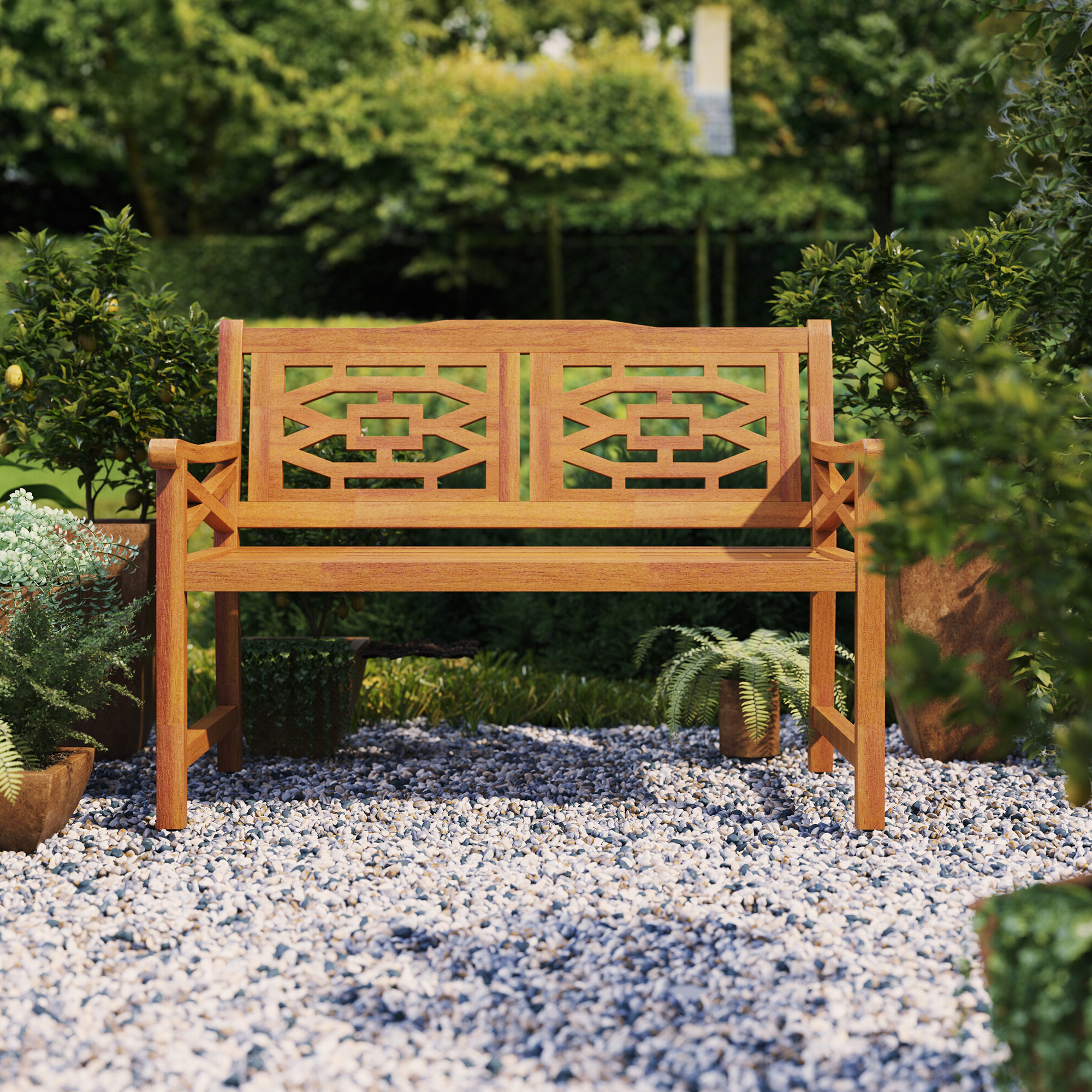 Beeches Wooden Garden Bench For Well Liked Ahana Wooden Garden Benches (View 10 of 30)