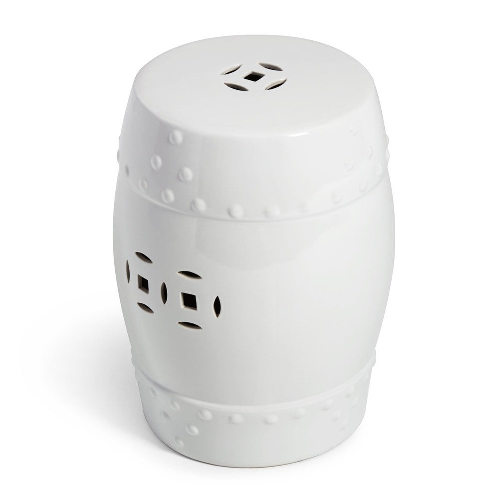 Best And Newest Abbyson Madras White Ceramic Garden Stool In Bonville Ceramic Garden Stools (View 15 of 30)