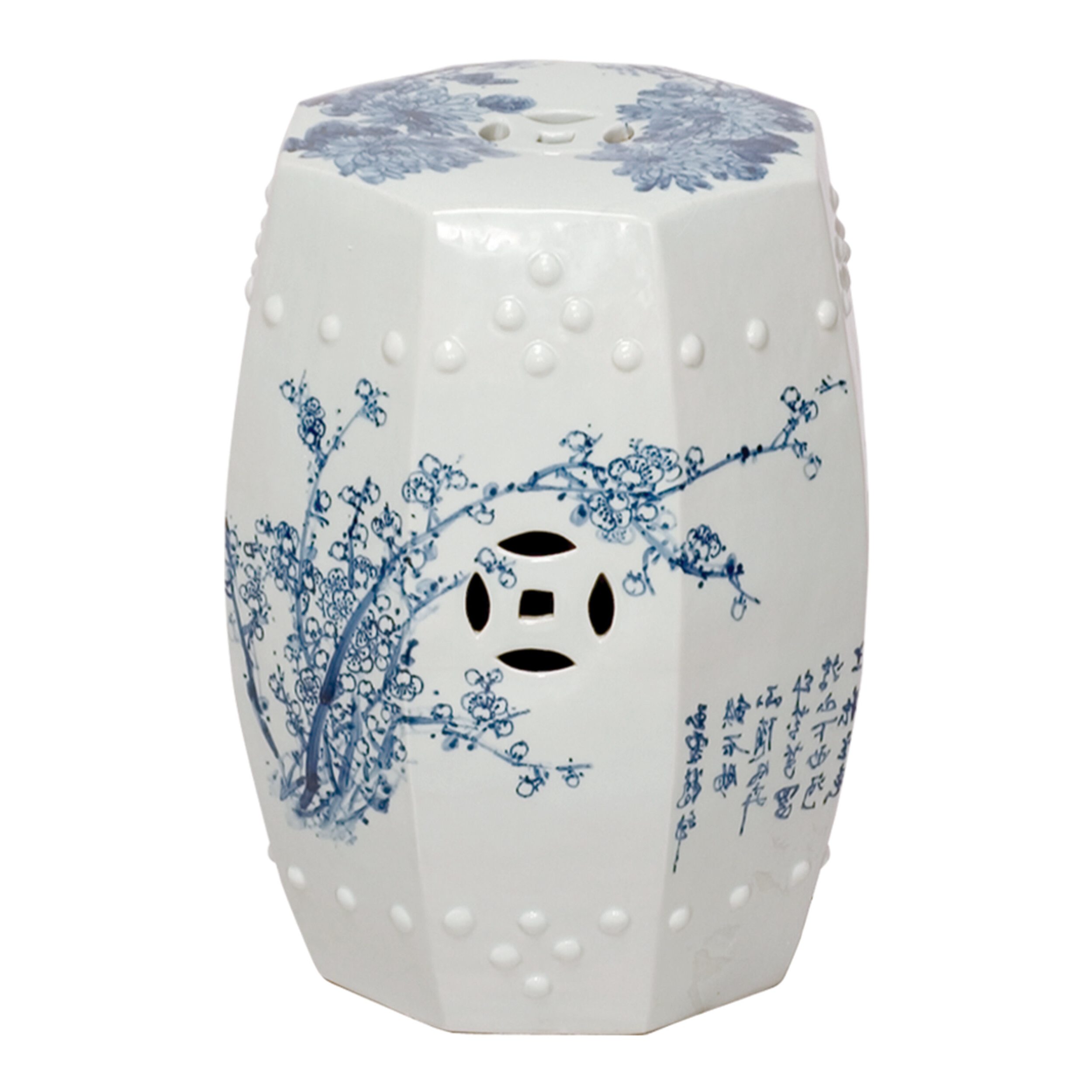 Best And Newest Aloysius Ceramic Garden Stools In Emanuel 4 Season Garden Stool (View 14 of 30)