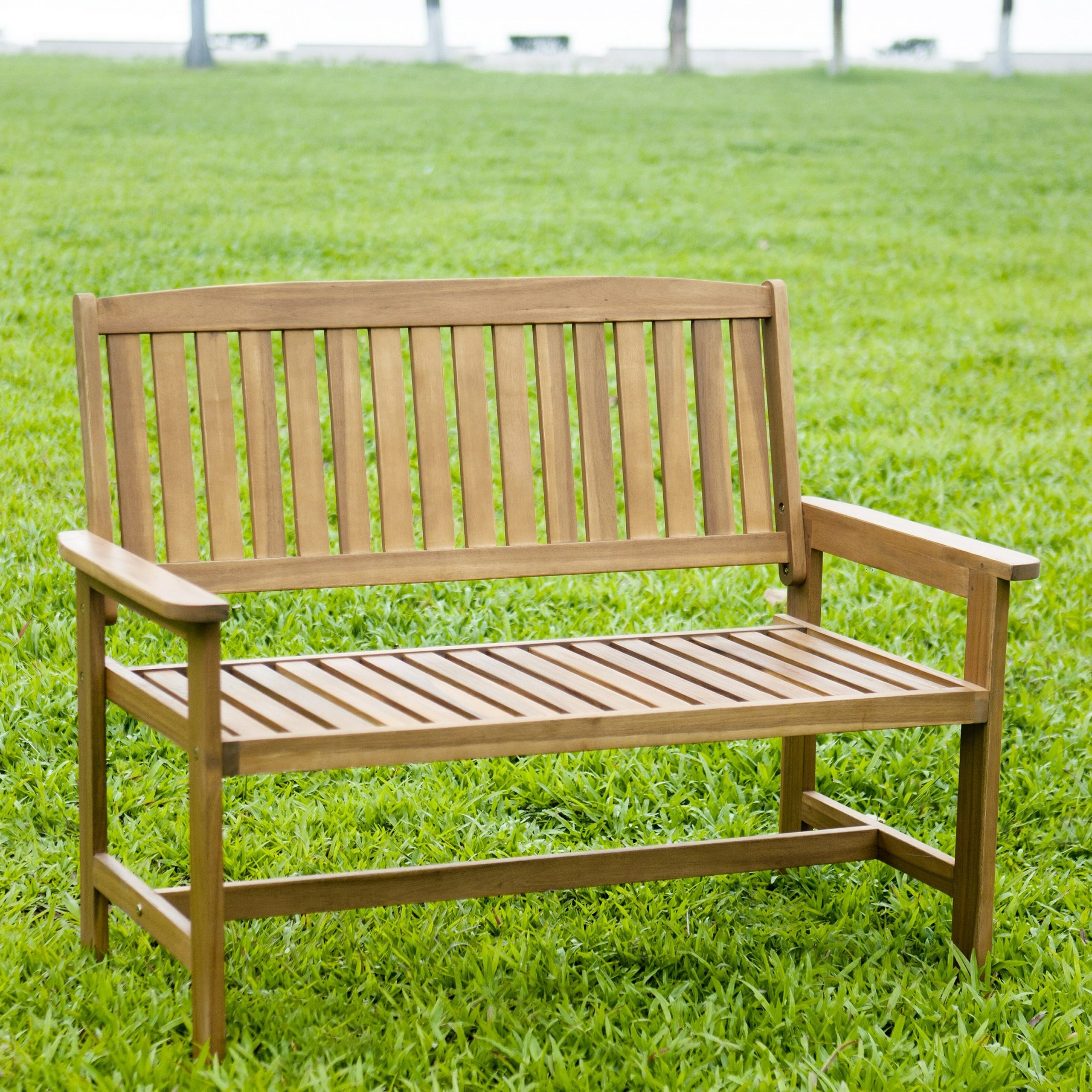 Best And Newest Avoca Wood Garden Benches Intended For Wood Garden Bench (View 7 of 30)