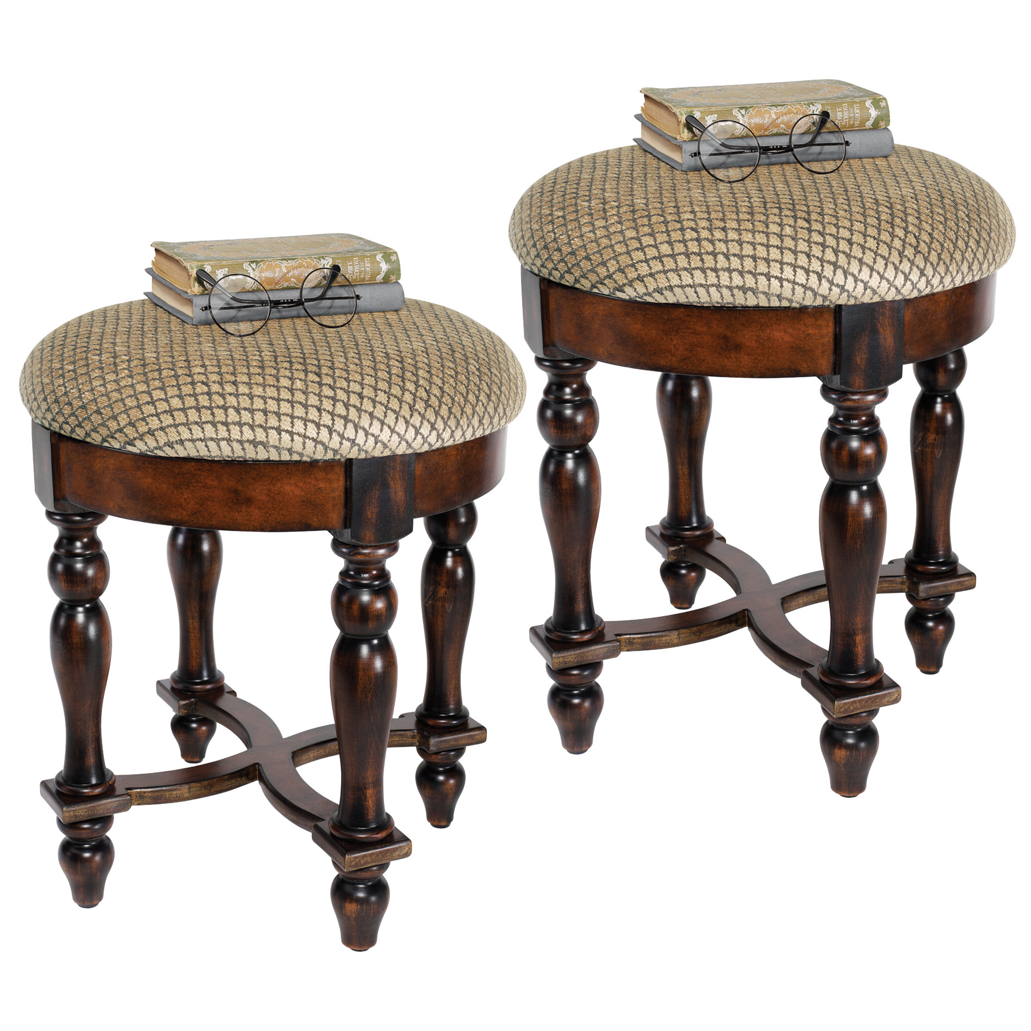 Best And Newest Grand Duchess Boudoir Vanity Stool With Middlet Owl Ceramic Garden Stools (View 22 of 30)