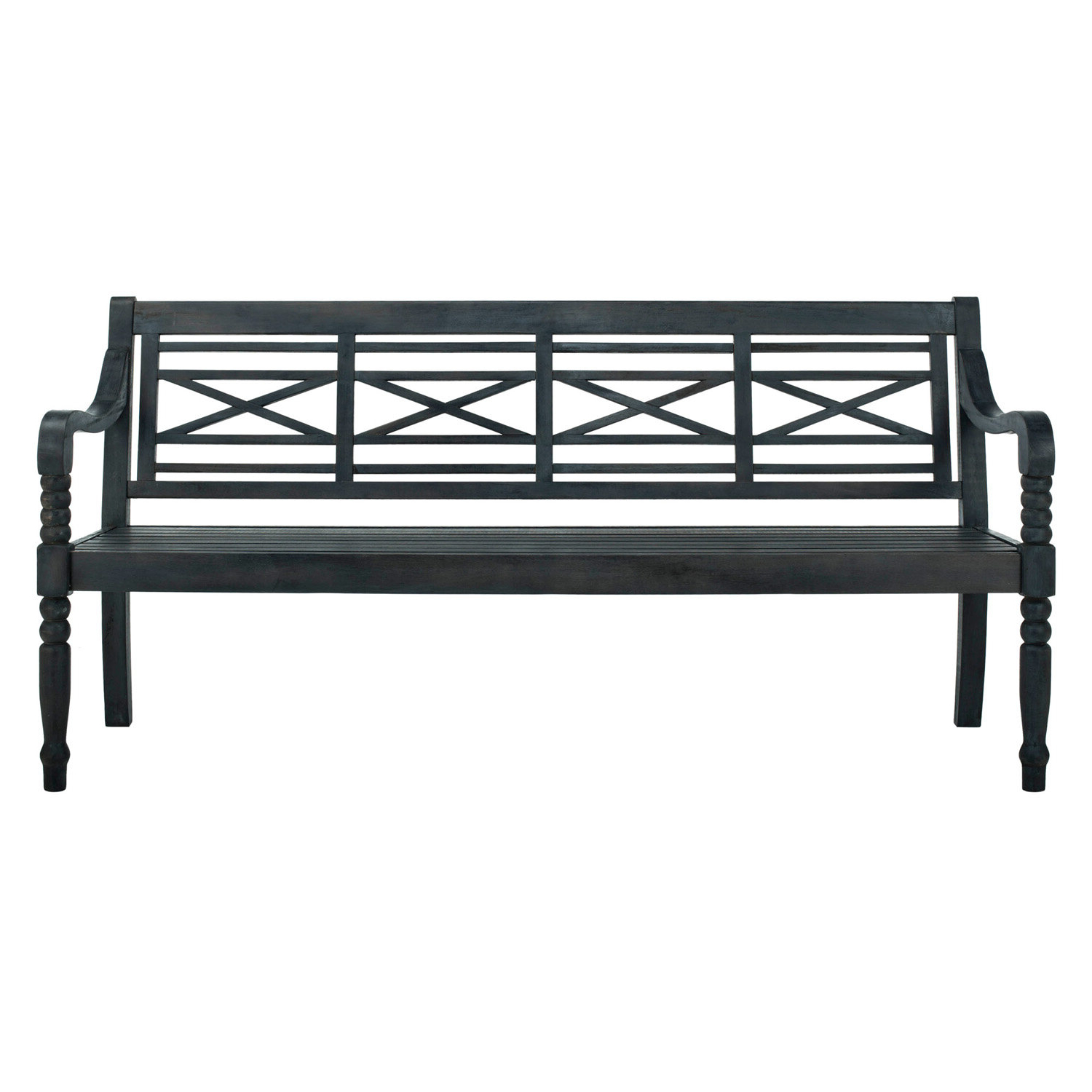 Best And Newest Putnam Garden Bench With Regard To Gehlert Traditional Patio Iron Garden Benches (View 18 of 30)