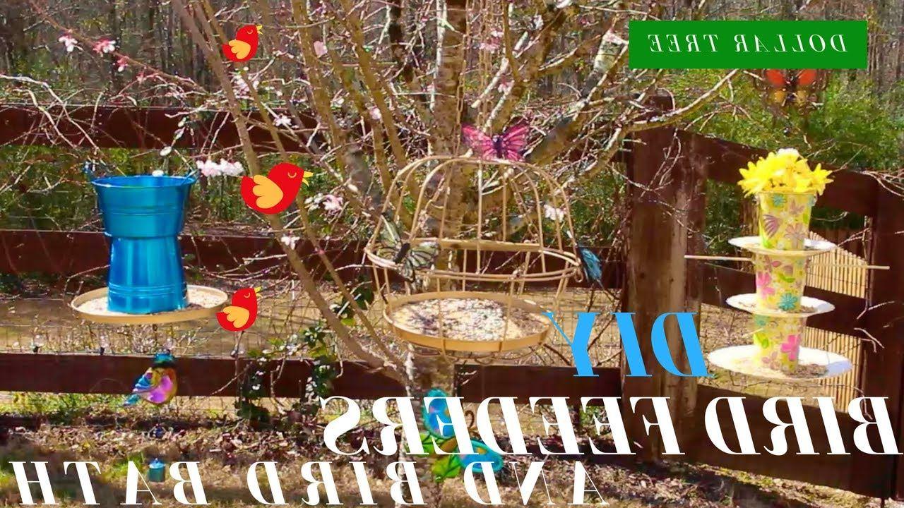 Bird Feeders & Birth Bath (View 19 of 30)