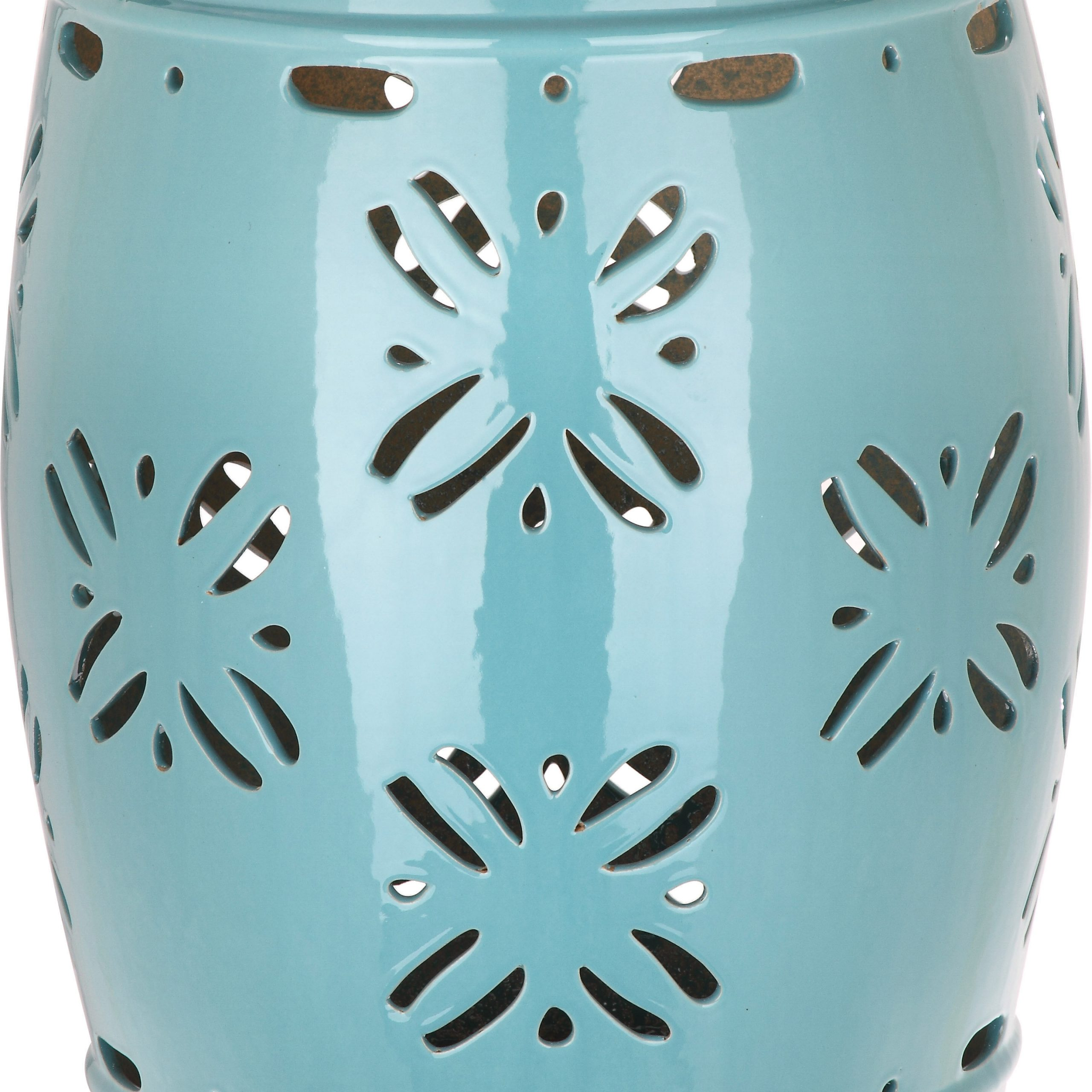 Blue Ceramic Garden Stools You'll Love In (View 20 of 30)