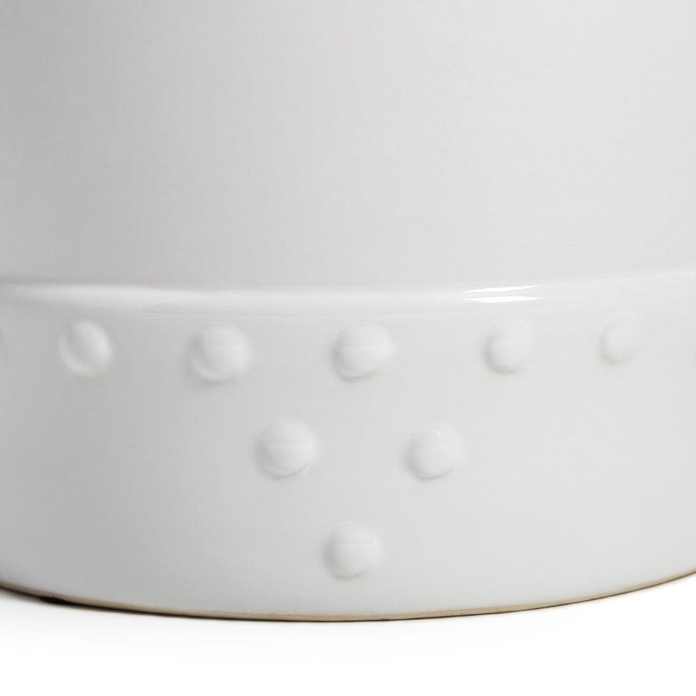 Bonville Ceramic Garden Stools Intended For Most Popular Abbyson Madras White Ceramic Garden Stool (View 12 of 30)