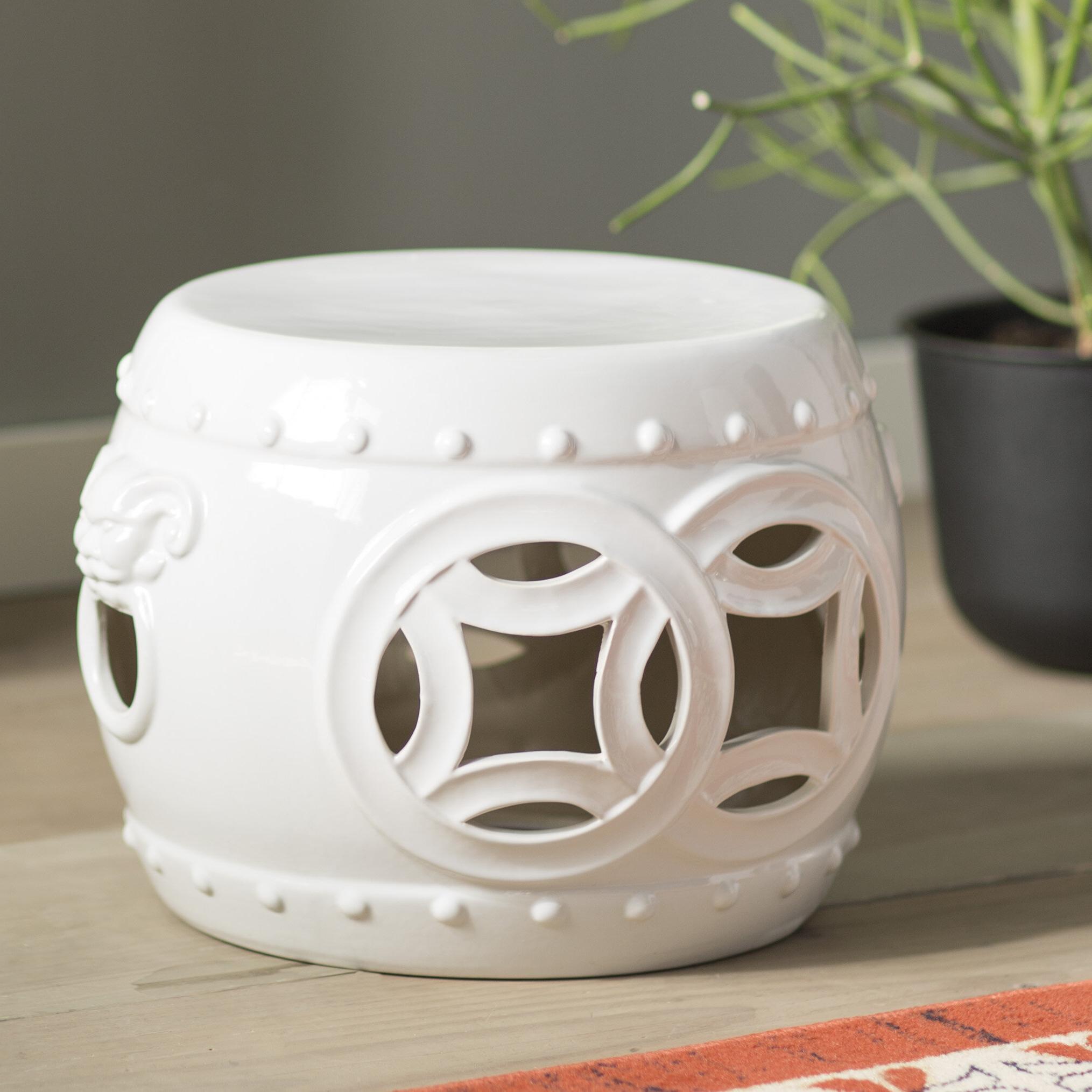 Canarsie Ceramic Garden Stools In Best And Newest Veer Garden Stool (View 27 of 30)