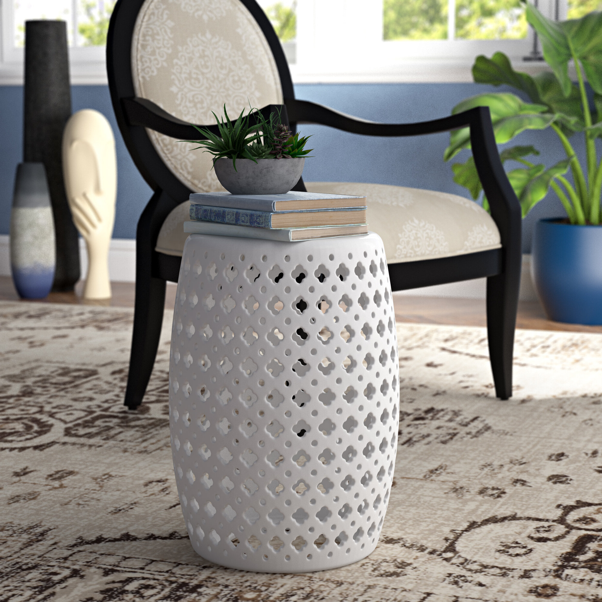 Canarsie Ceramic Garden Stools With Regard To Current Gisella Garden Stool (View 5 of 30)