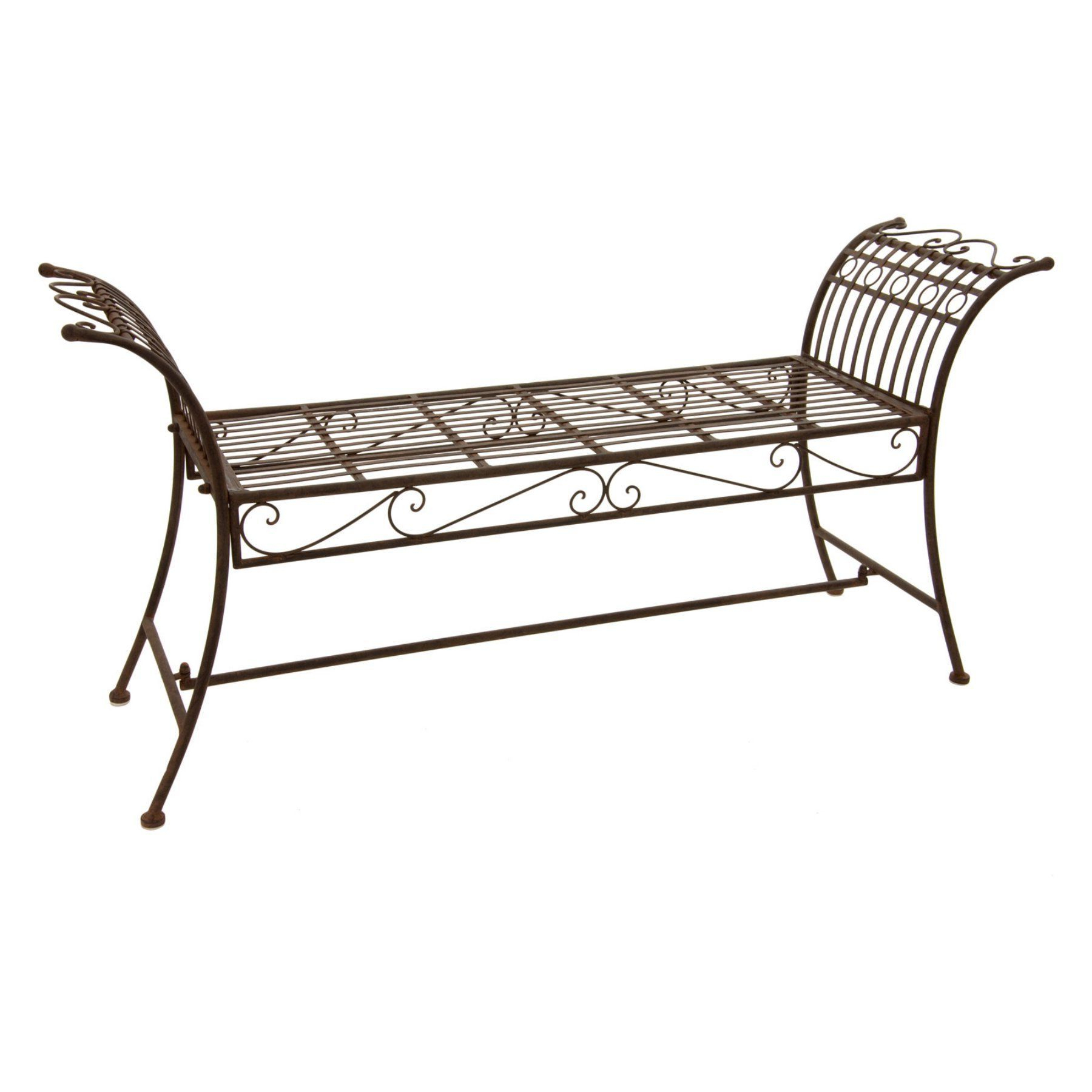 Caryn Colored Butterflies Metal Garden Benches For Well Liked Outdoor Oriental Furniture Rustic Wing Decorative Backless (View 13 of 30)