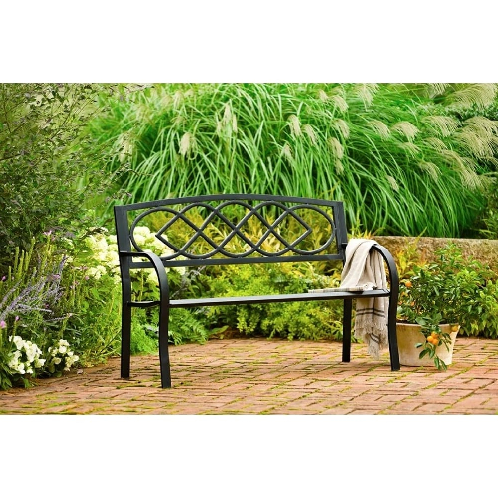 Celtic Knot Garden Bench In Preferred Celtic Knot Iron Garden Benches (View 18 of 30)