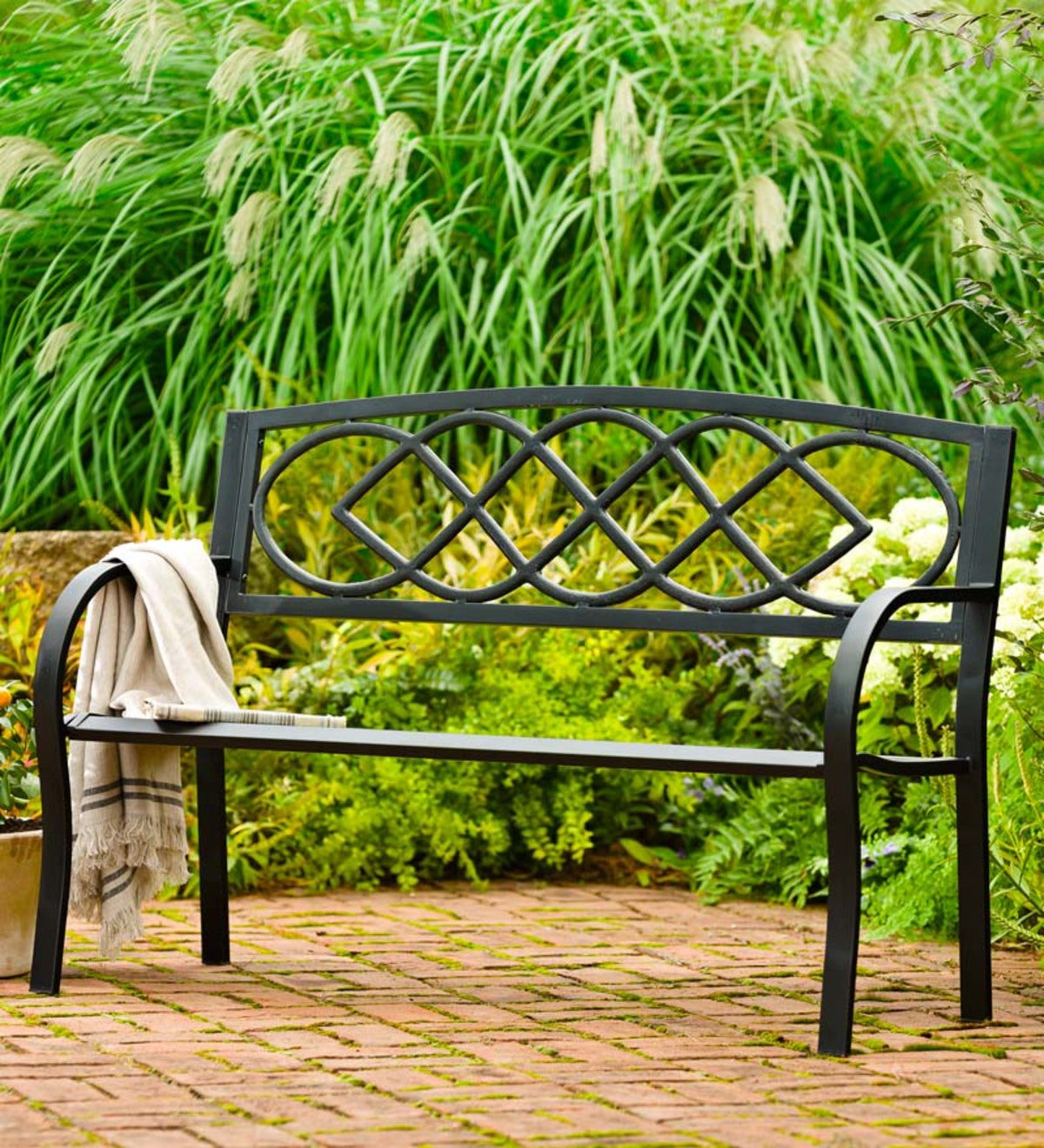 Celtic Knot Garden Bench Pertaining To Most Recent Celtic Knot Iron Garden Benches (View 5 of 30)