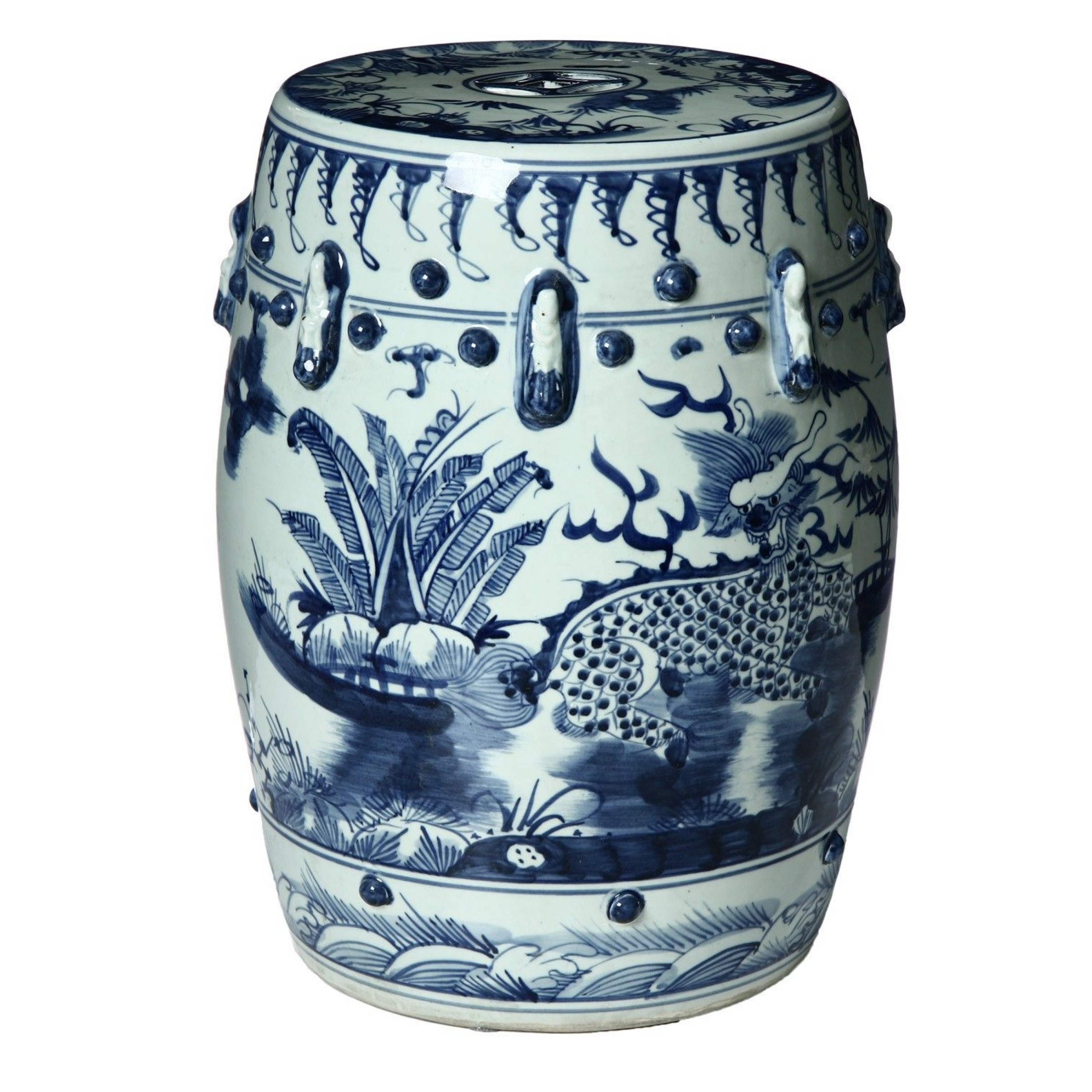 Chinese Garden Stools – Ideas On Foter Within Newest Dragon Garden Stools (View 8 of 30)