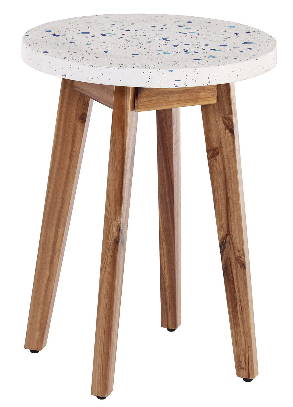 Current Cavin Wooden Side Table With Cavin Garden Benches (View 13 of 30)