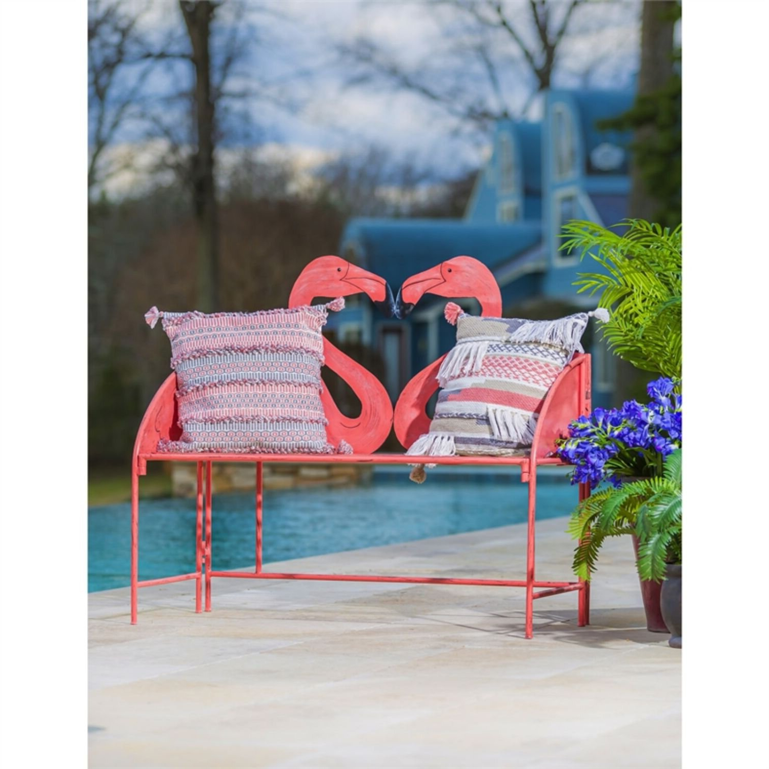 Featured Photo of Flamingo Metal Garden Benches