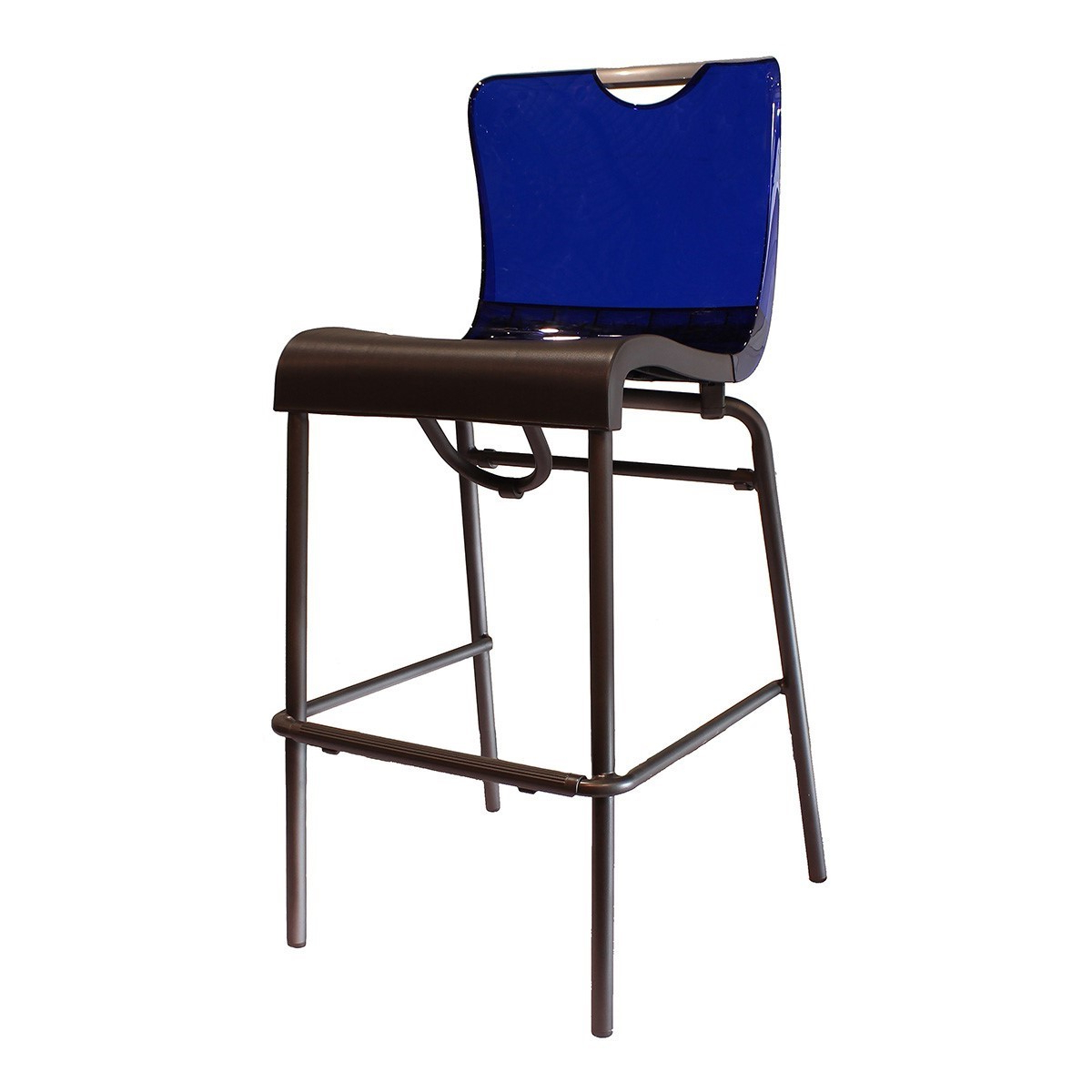 Current Krystal Ergonomic Metal Garden Benches Within Krystal Commercial Grade Plastic Resin Polymer Barstool – 17 Lbs –  Furniture Leisure (View 24 of 30)
