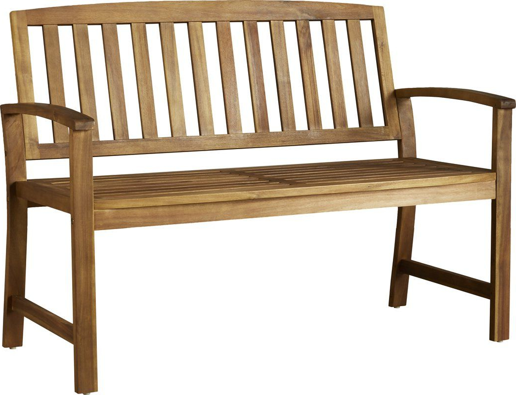 Current Leora Wooden Garden Bench (View 3 of 30)
