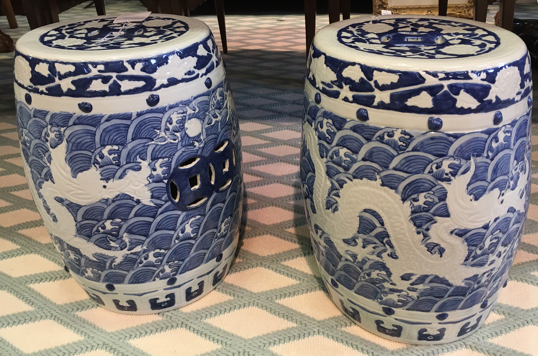 Dragon Garden Stools For 2020 Garden Stool – Blue And White Chinese Porcelain Garden (View 22 of 30)