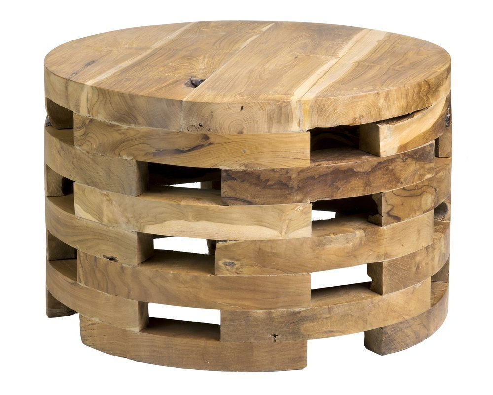 Drum Coffee Table Within Kujawa Ceramic Garden Stools (View 18 of 30)