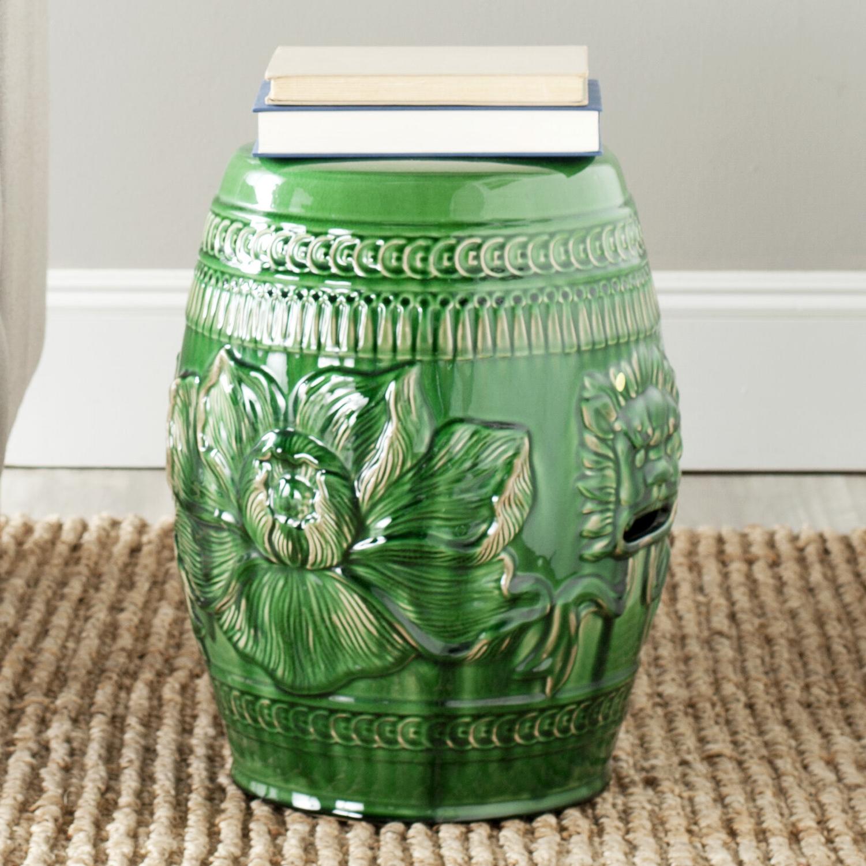 Ellison Ceramic Garden Stool Inside Most Popular Ceramic Garden Stools (View 2 of 30)