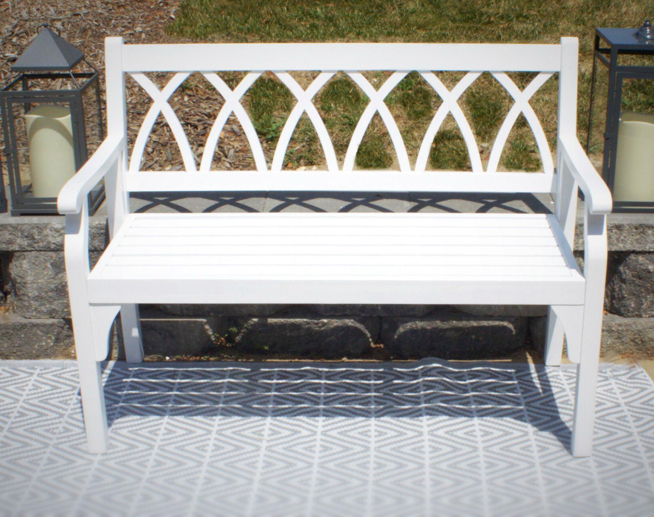 Elsner Acacia Garden Benches Regarding Popular Dolores Elegant Outdoor Wooden Garden Bench (View 20 of 30)