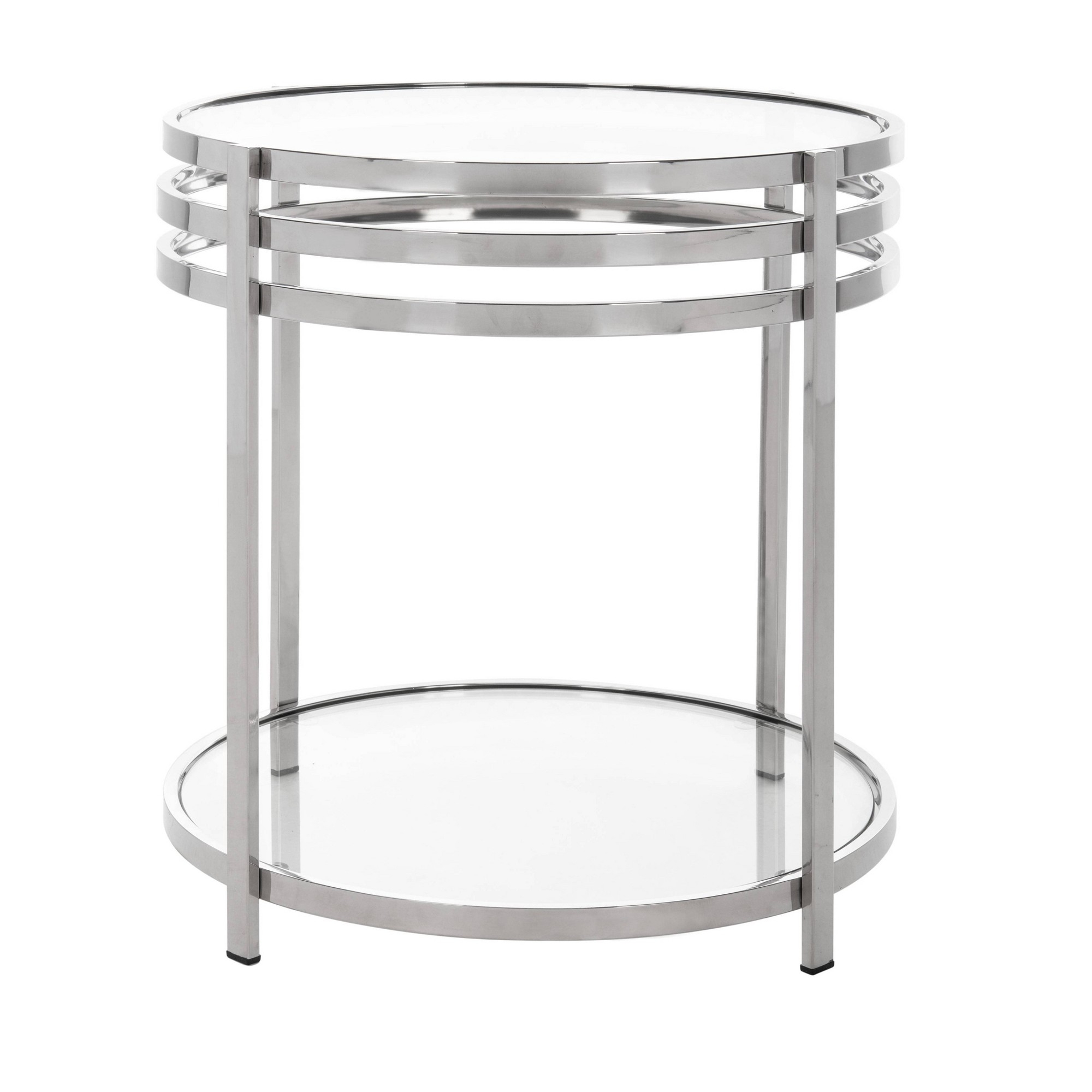 End Table Chrome – Safavieh In (View 26 of 30)