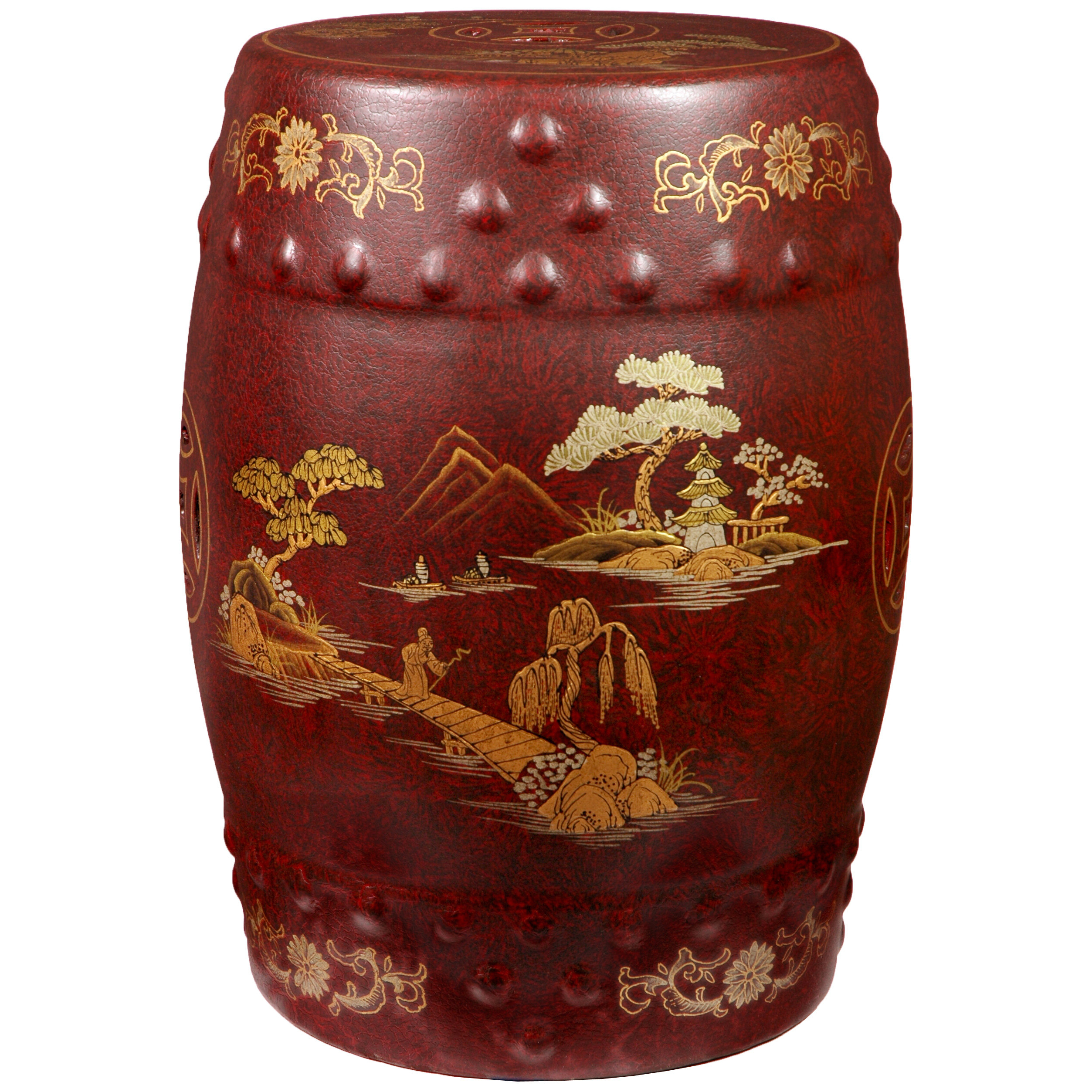 Famous Irwin Blossom Garden Stools For Helm Imperial Heavens Garden Stool (View 5 of 30)