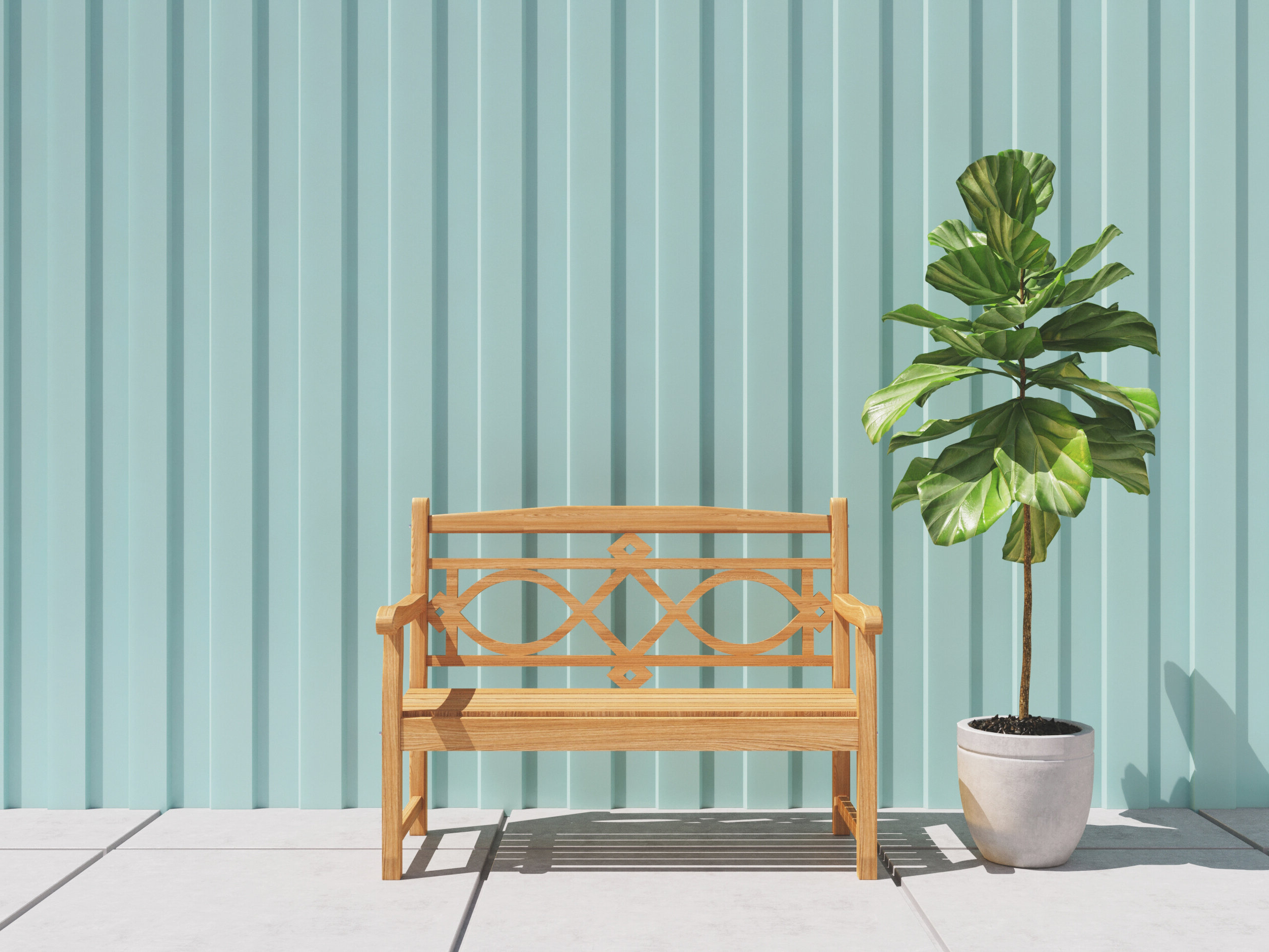 Famous Teak Garden Bench Pertaining To Wallie Teak Garden Benches (View 12 of 30)