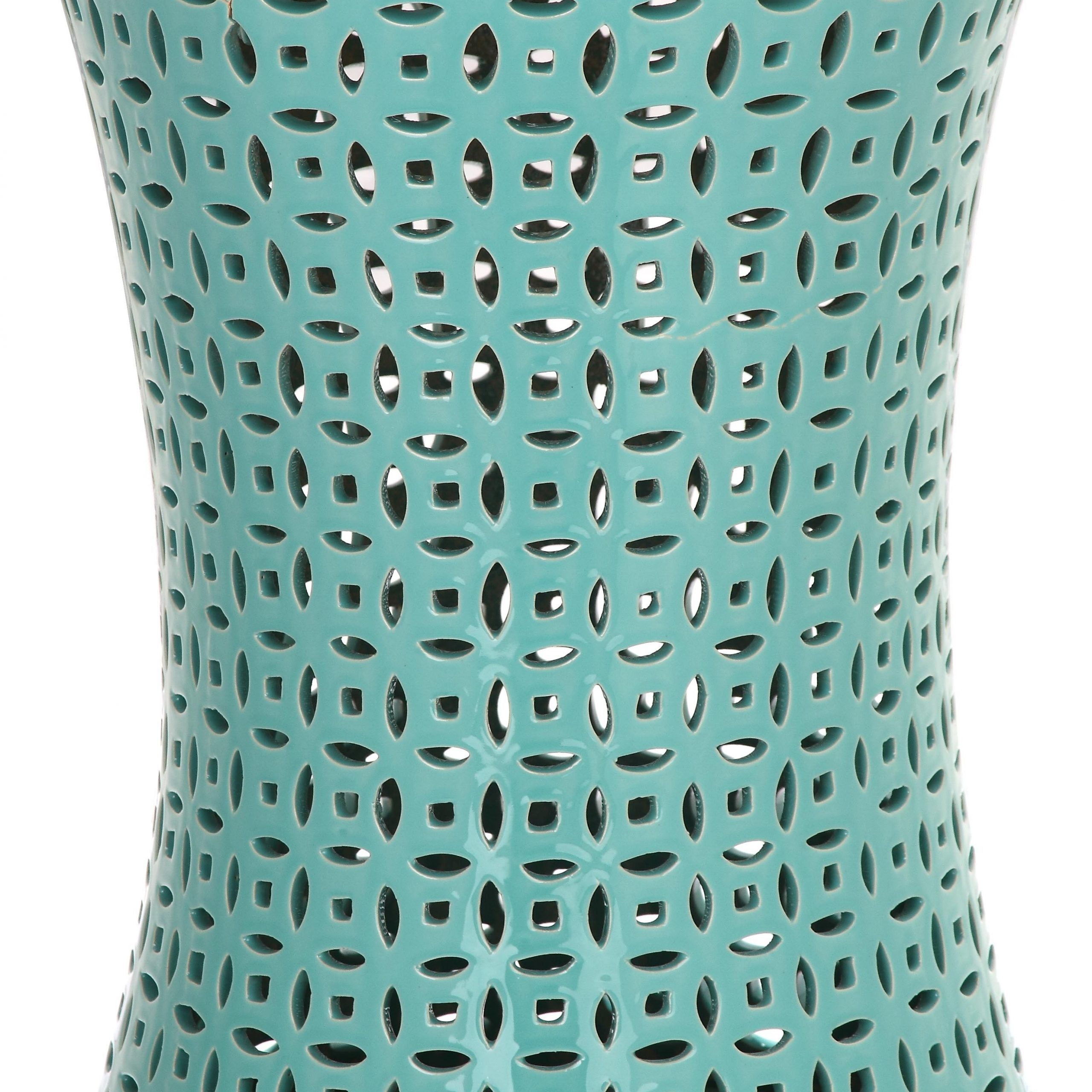 Famous Zenobia Ceramic Garden Stool Within Aloysius Ceramic Garden Stools (View 20 of 30)