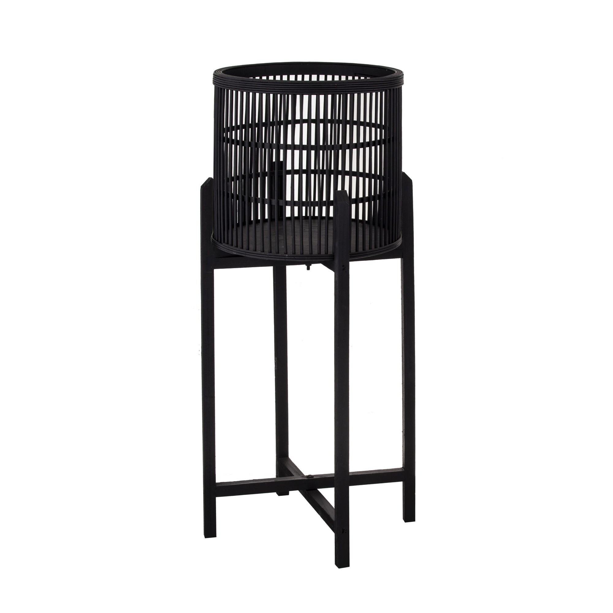 Fashionable Holbrook Bamboo Planter Stand, Large For Holbrook Ceramic Garden Stools (View 15 of 30)