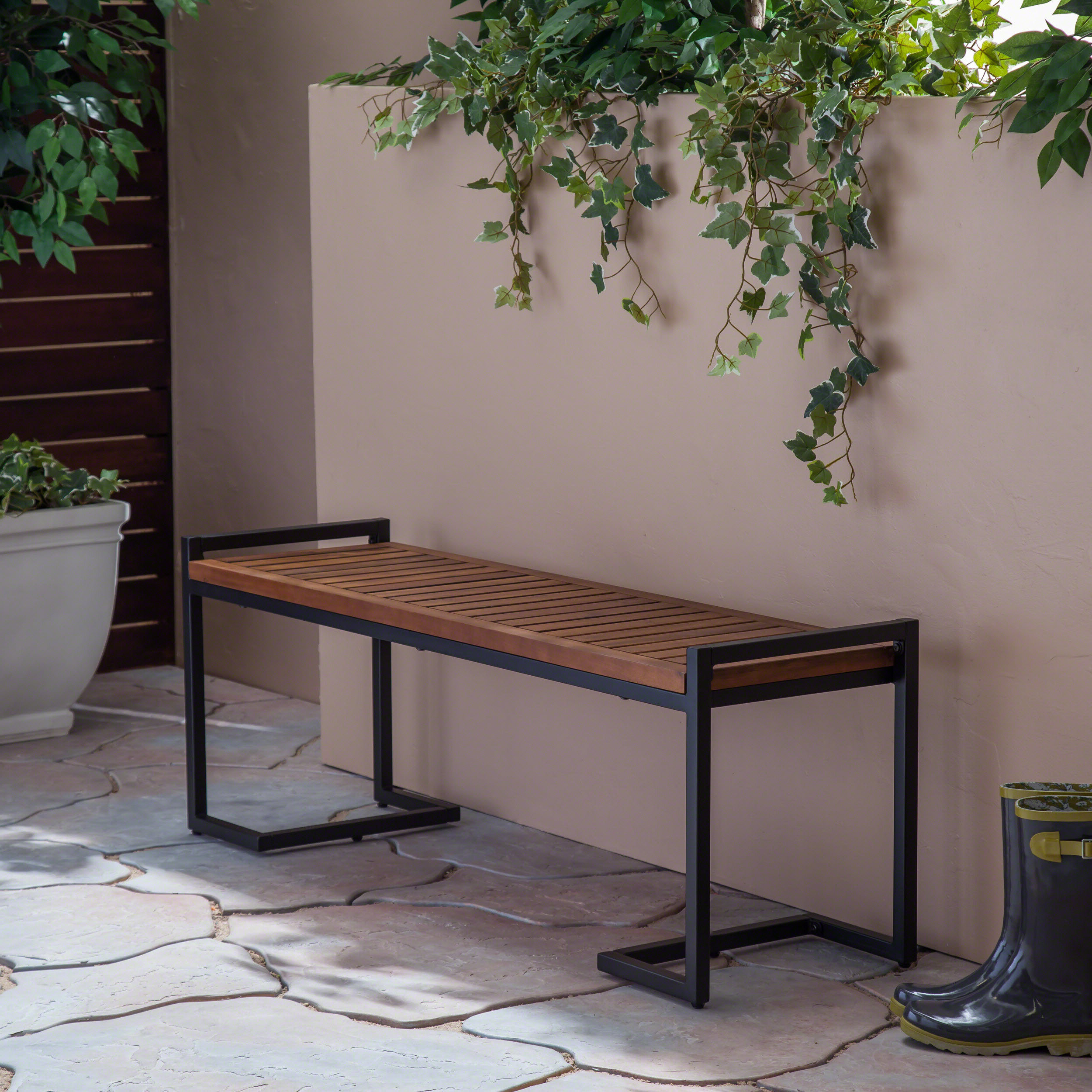 Favorite Cushionless Outdoor Benches You'll Love In (View 29 of 30)