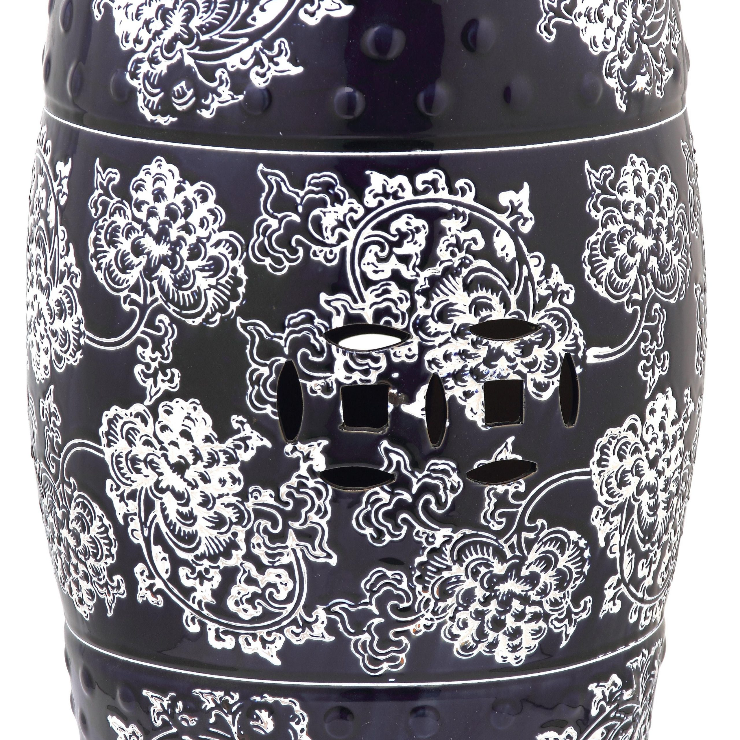 Favorite Morgan Ceramic Garden Stool Intended For Karlov Ceramic Garden Stools (View 22 of 30)