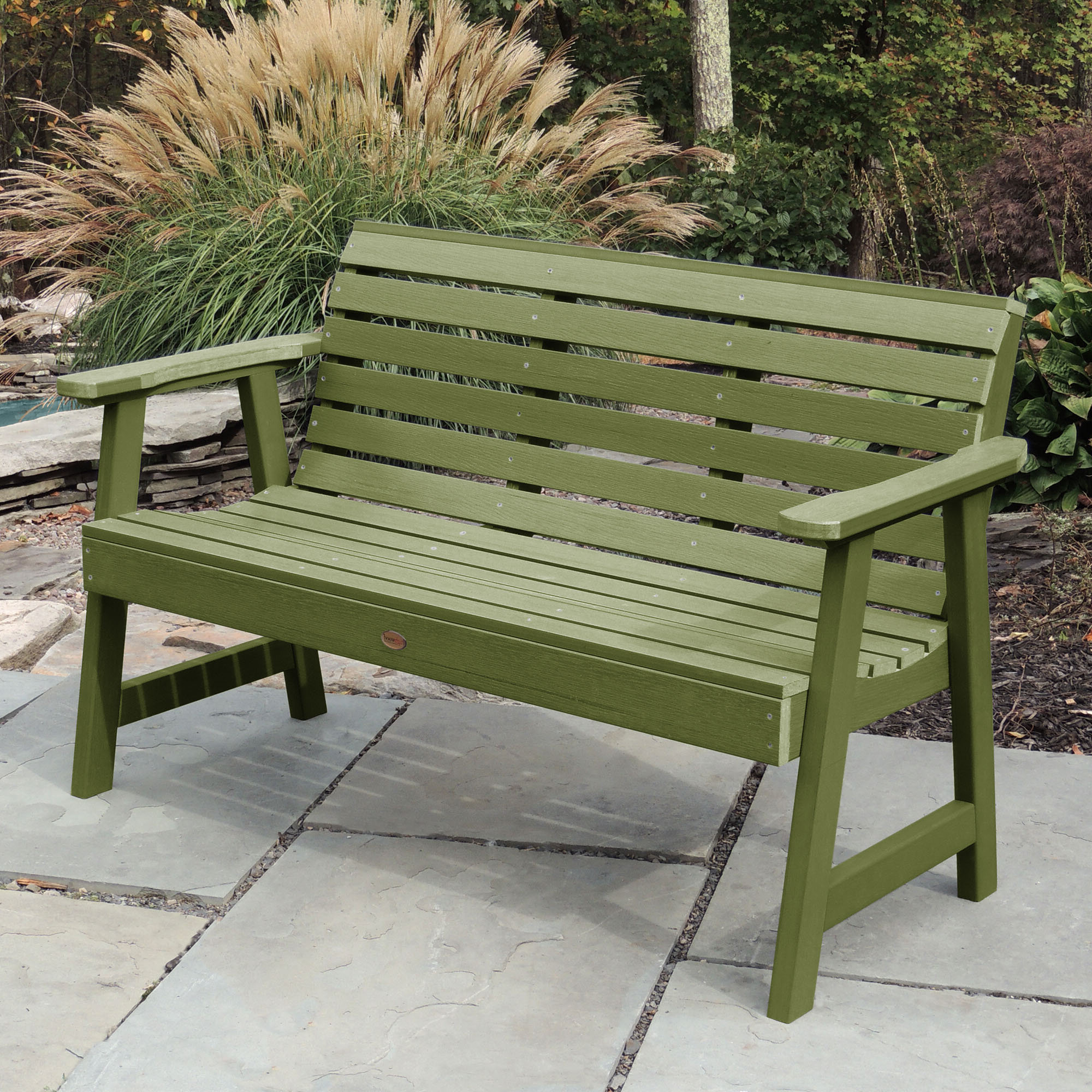Favorite Outdoor Green Benches (View 19 of 30)