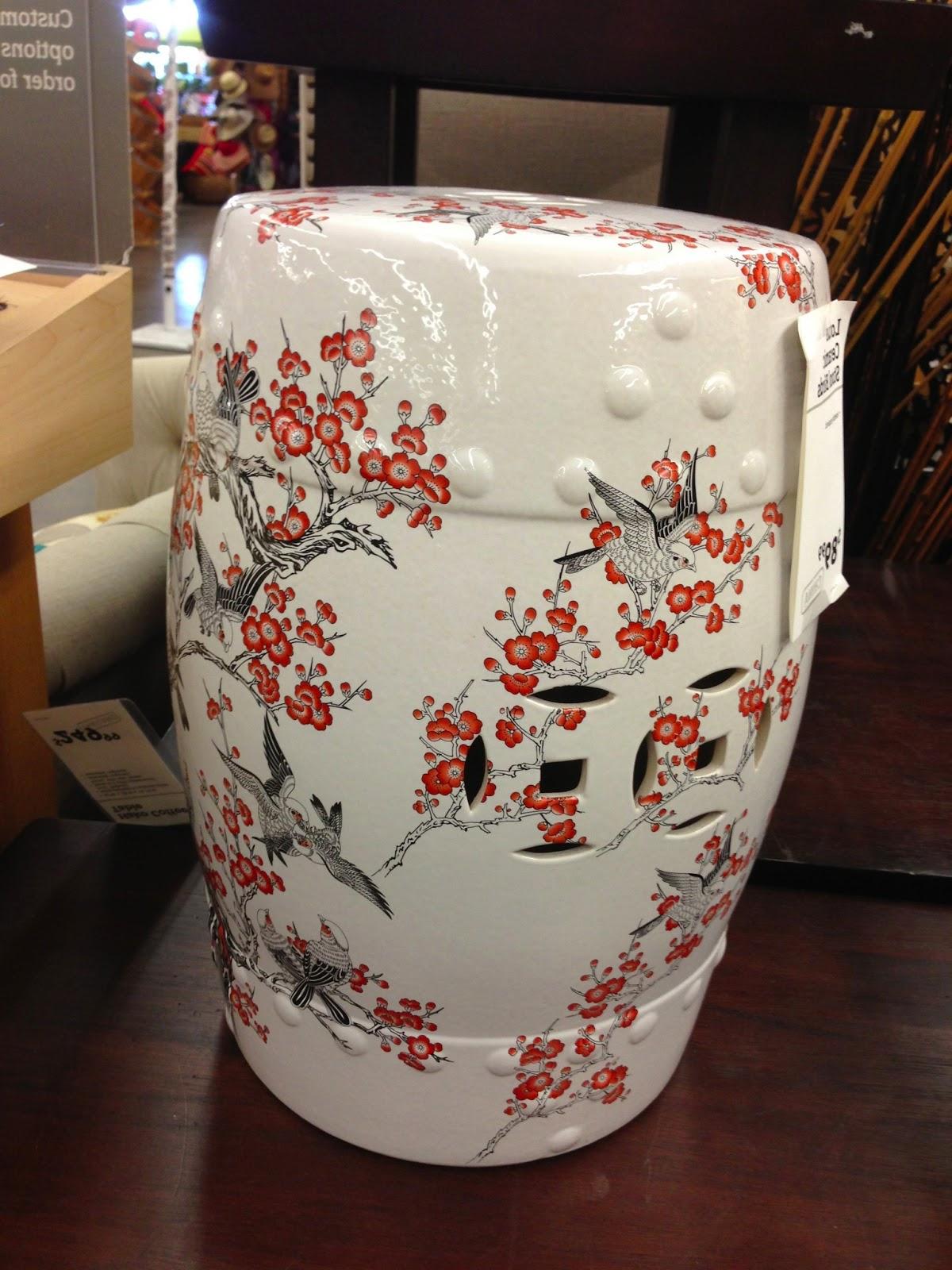 Favorite Sanity Fair: Chinese Garden Stool Steals Throughout Murphy Ceramic Garden Stools (View 27 of 30)