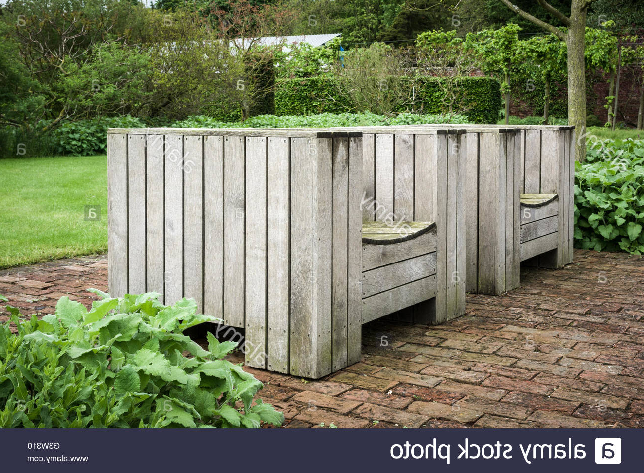 Favorite Weir Garden Stools In English Garden Setting High Resolution Stock Photography And (View 25 of 30)
