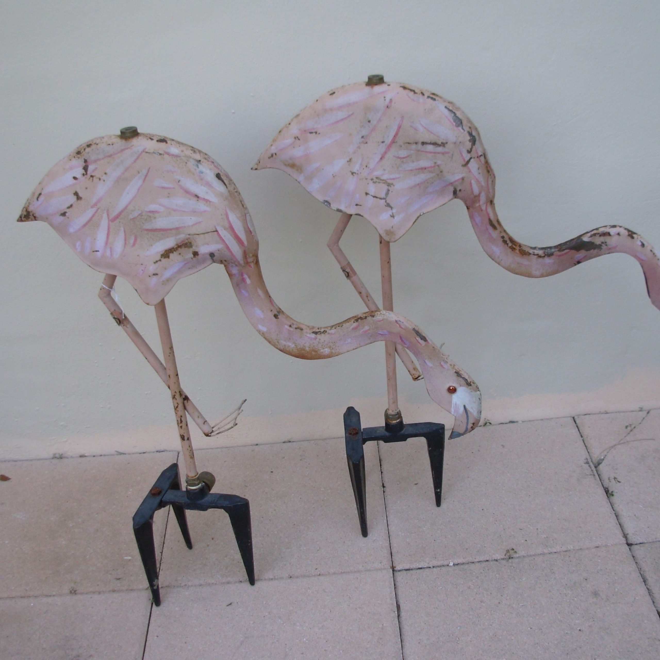 Flamingo Garden, Cast Iron (View 7 of 30)